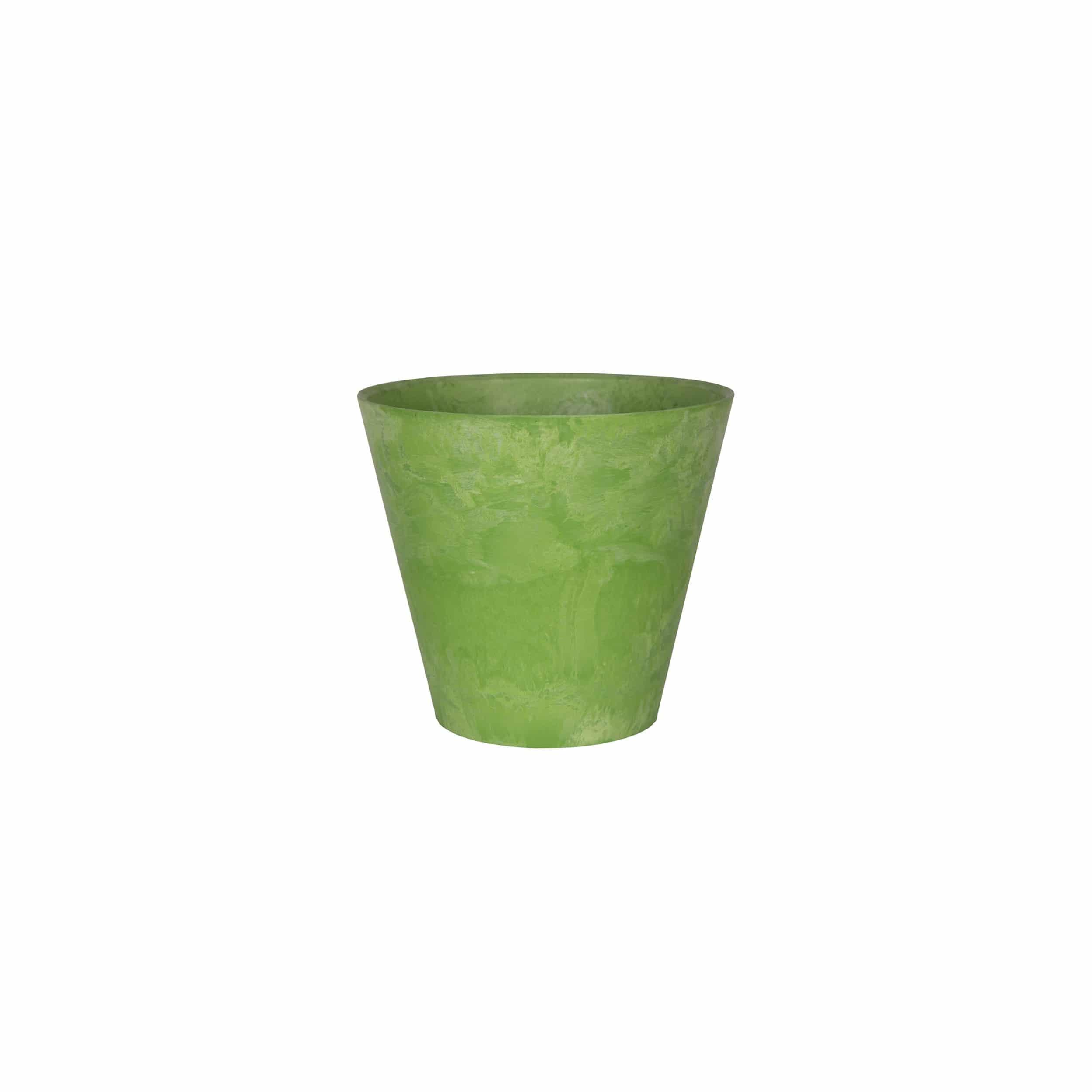 Blumentopf Claire D17cm limegrün