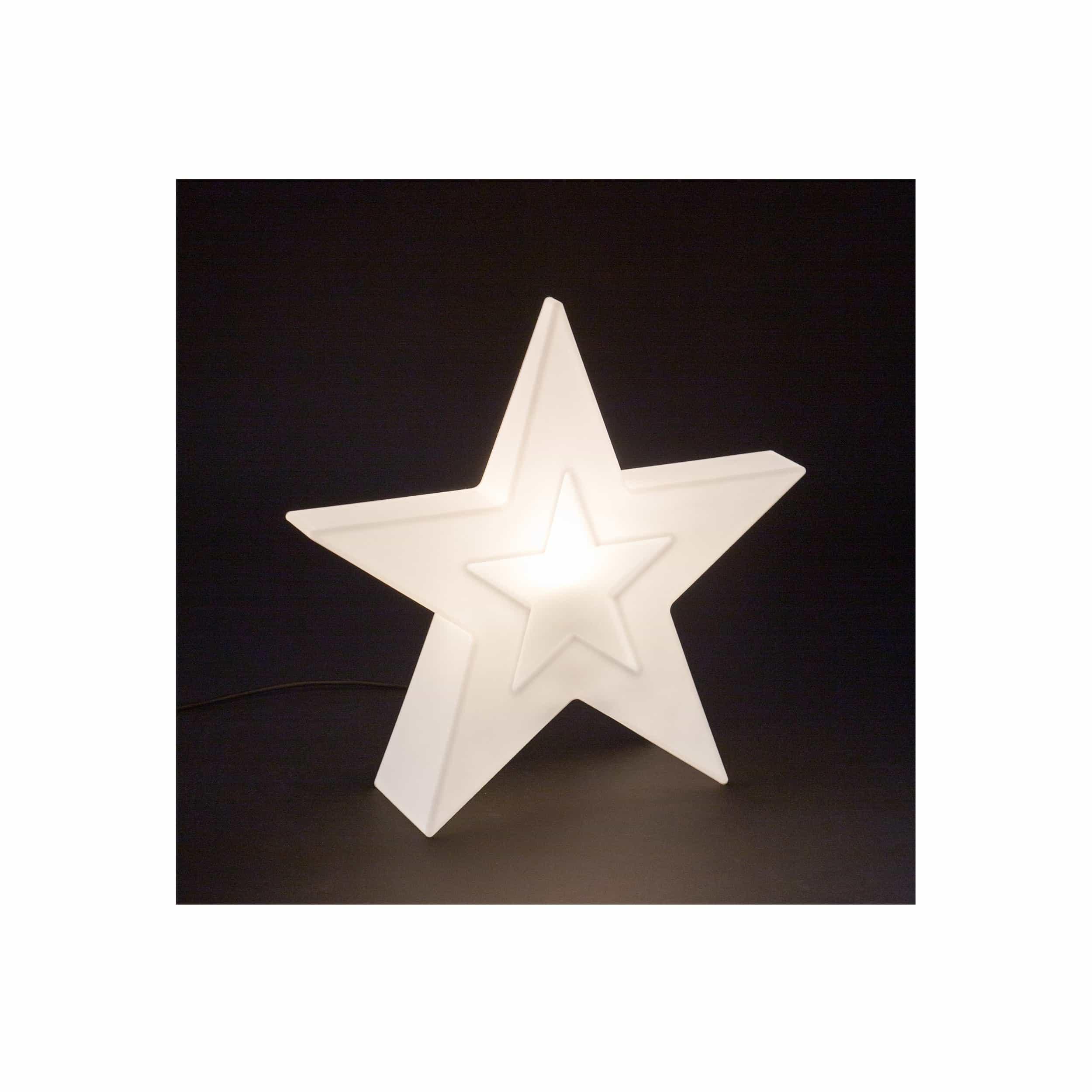 LED Leucht-Objekt Lumen Style Star H55 cm