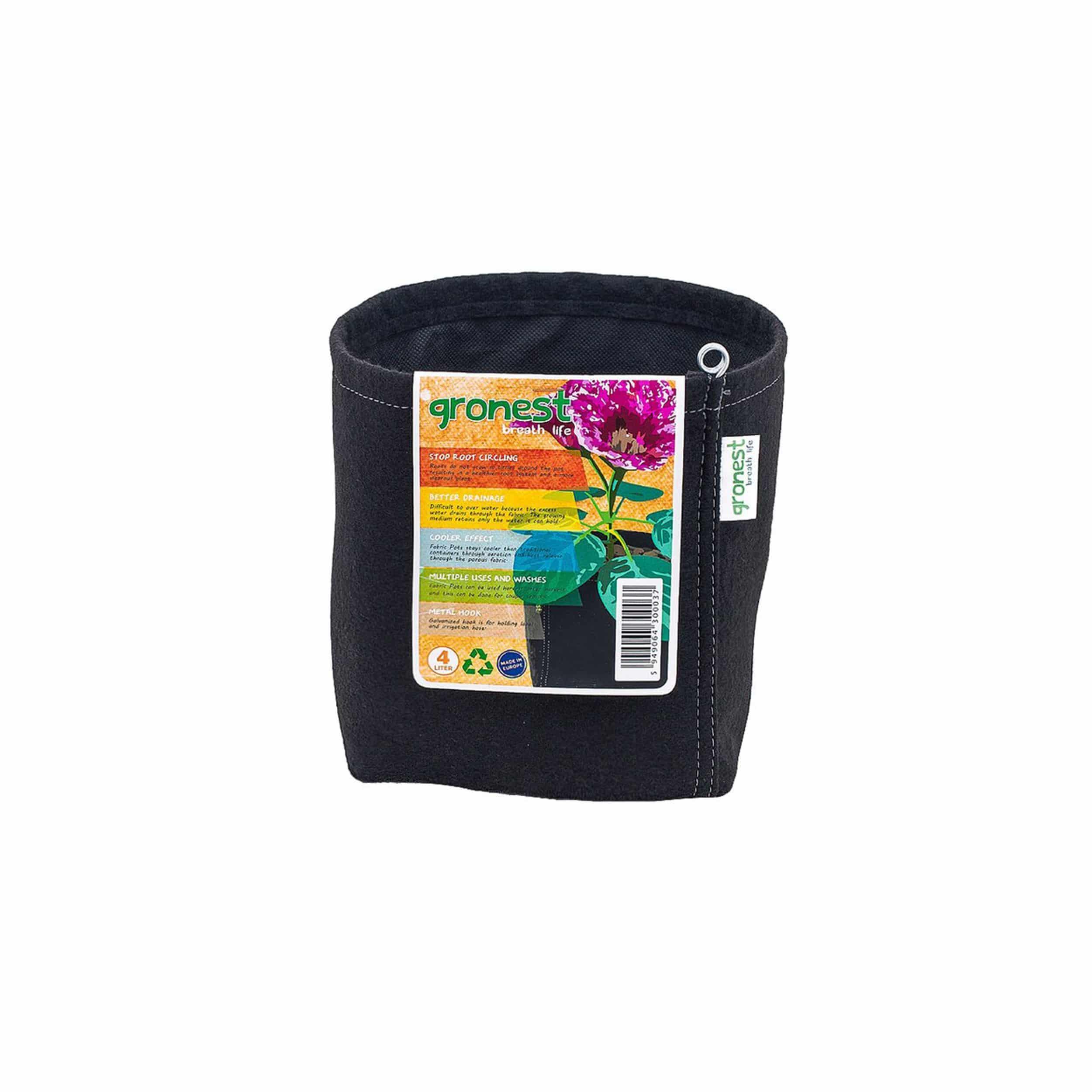 Textil-Blumentopf 4 Liter