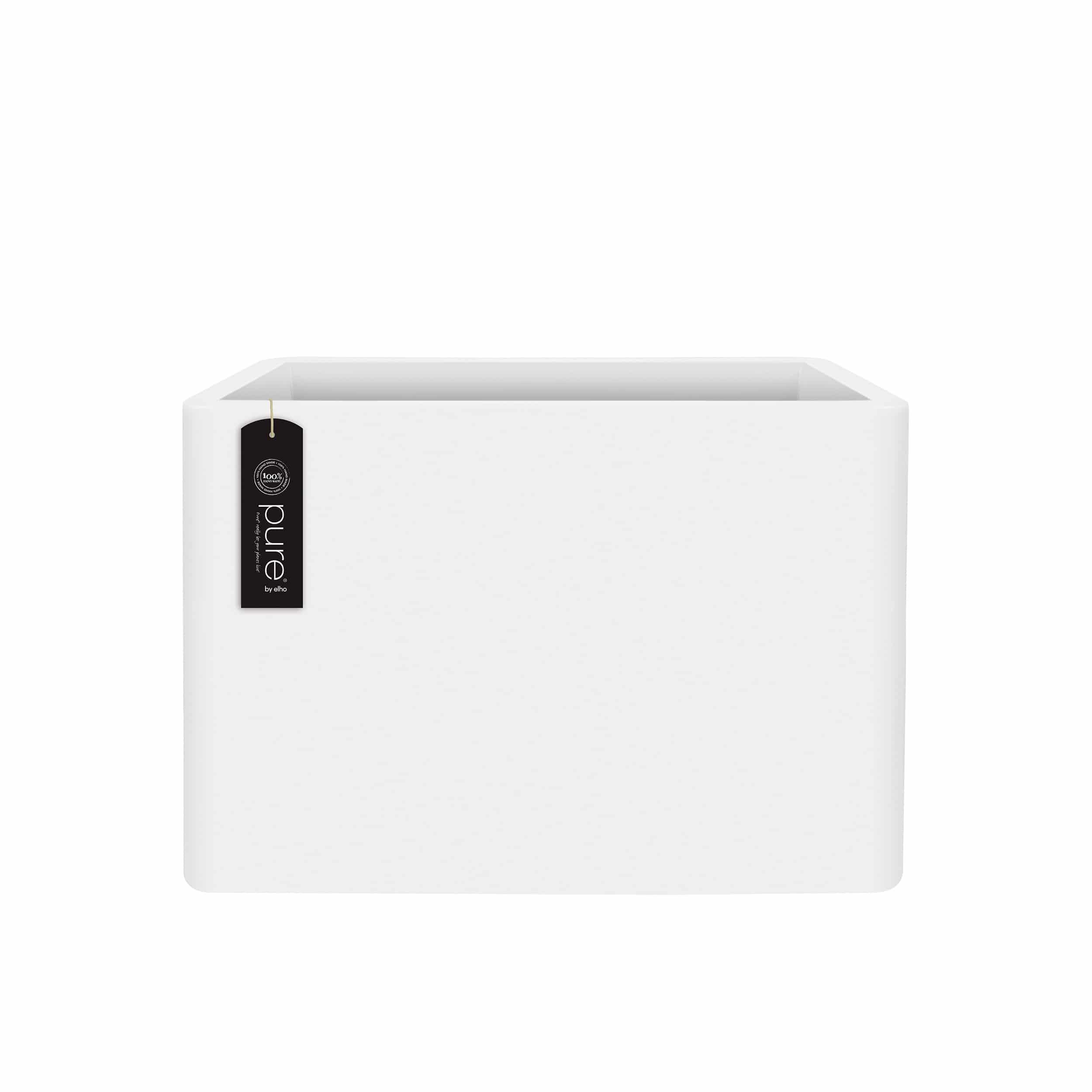 Pflanzkasten Pure Soft Brick Divider mit Rollen L80cm weiß