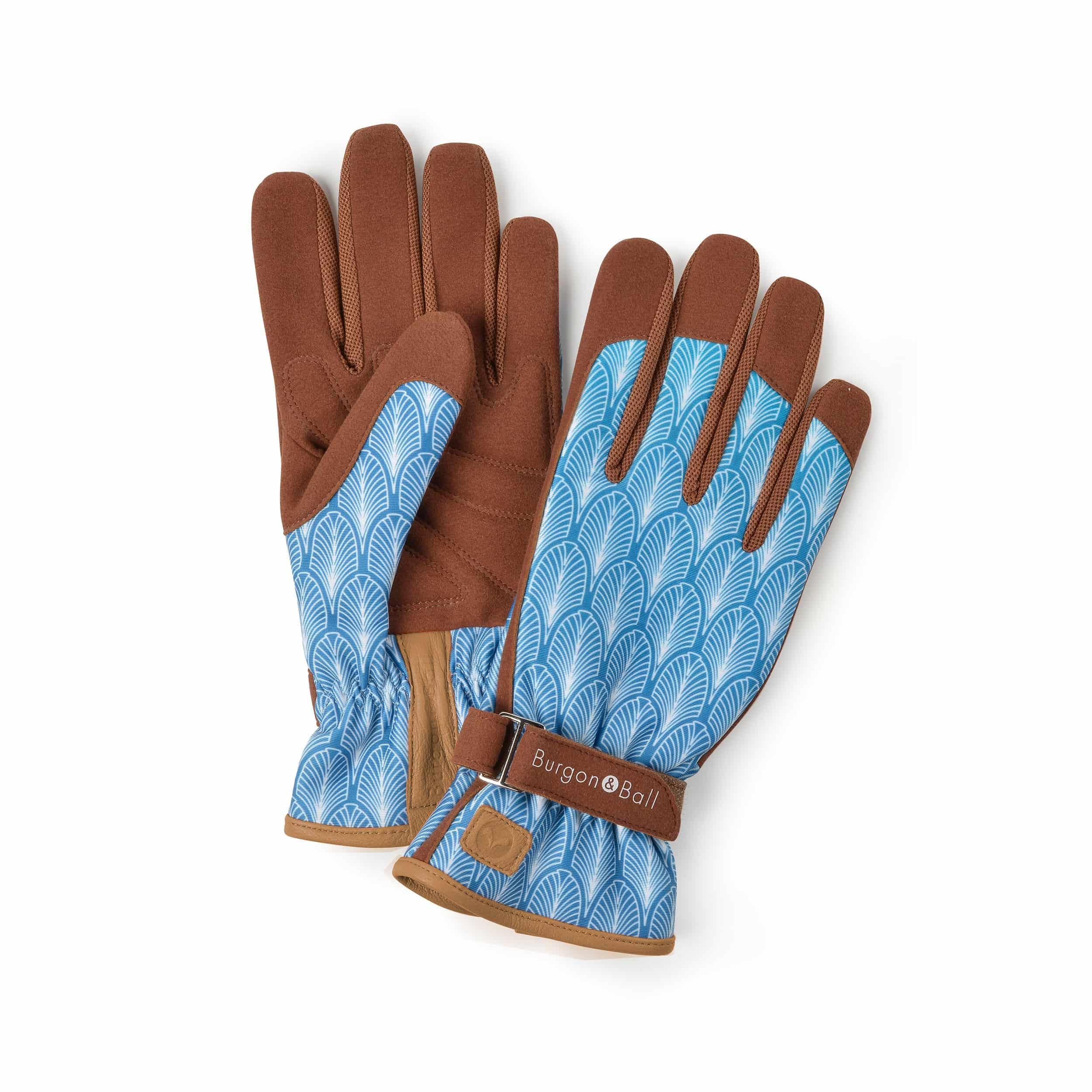 Gartenhandschuhe für Damen hellblau