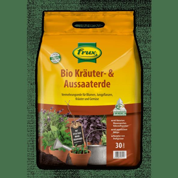 Bio Kräuter- & Aussaaterde mit effektiven Mikroorganismen 30 Liter