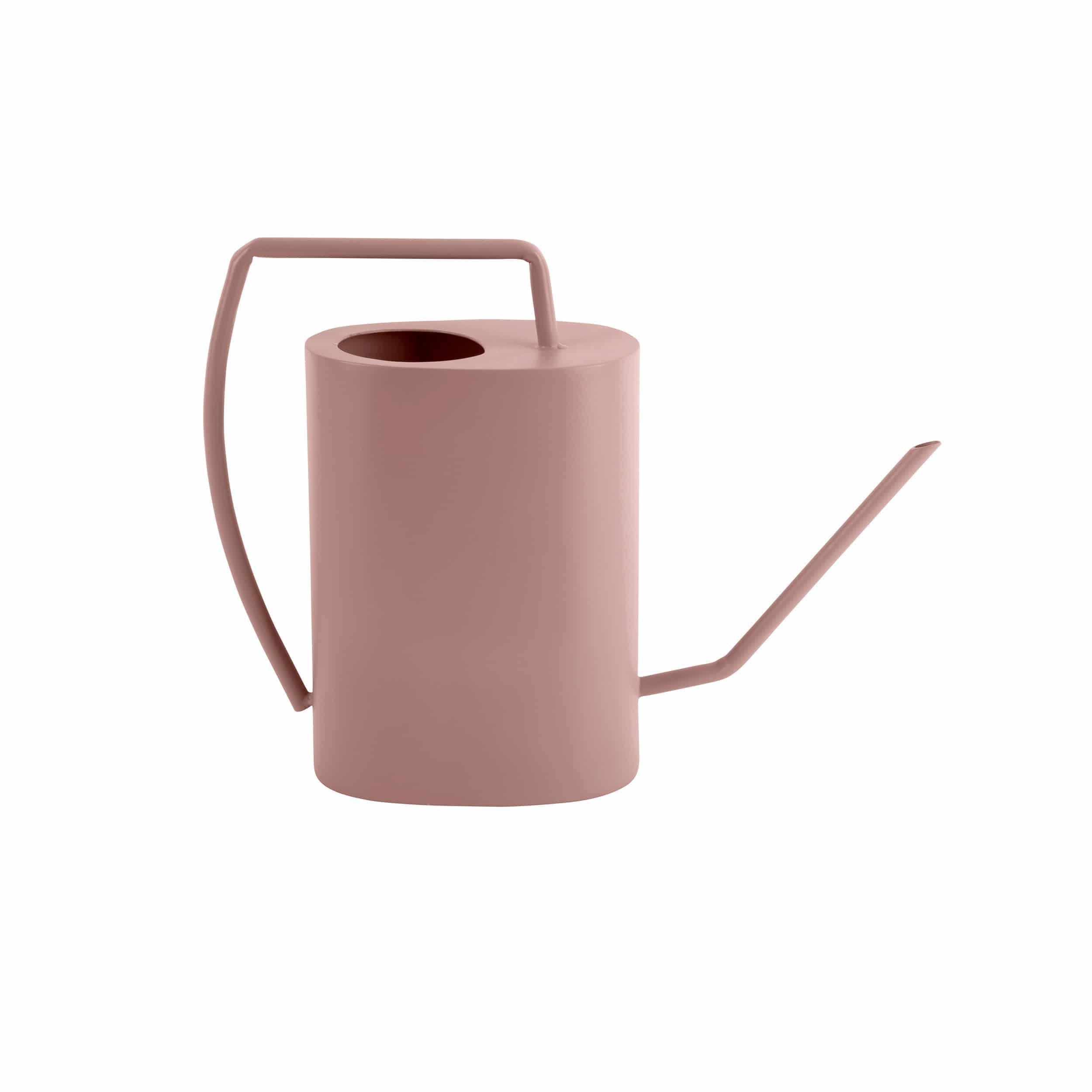 Gießkanne Grace aus Eisen rosa