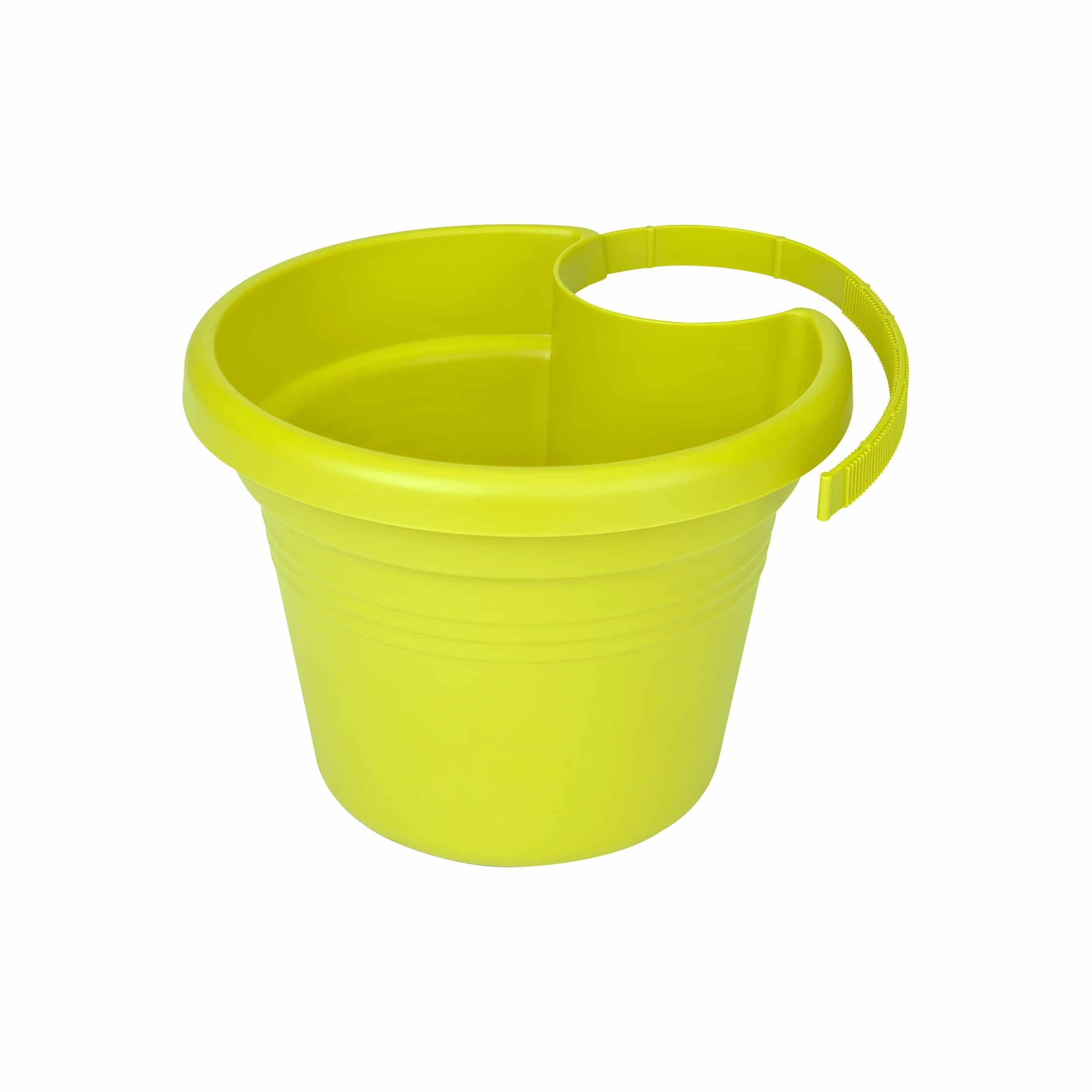 Regenrohrpflanzgefäß Green Basics D23cm limegrün