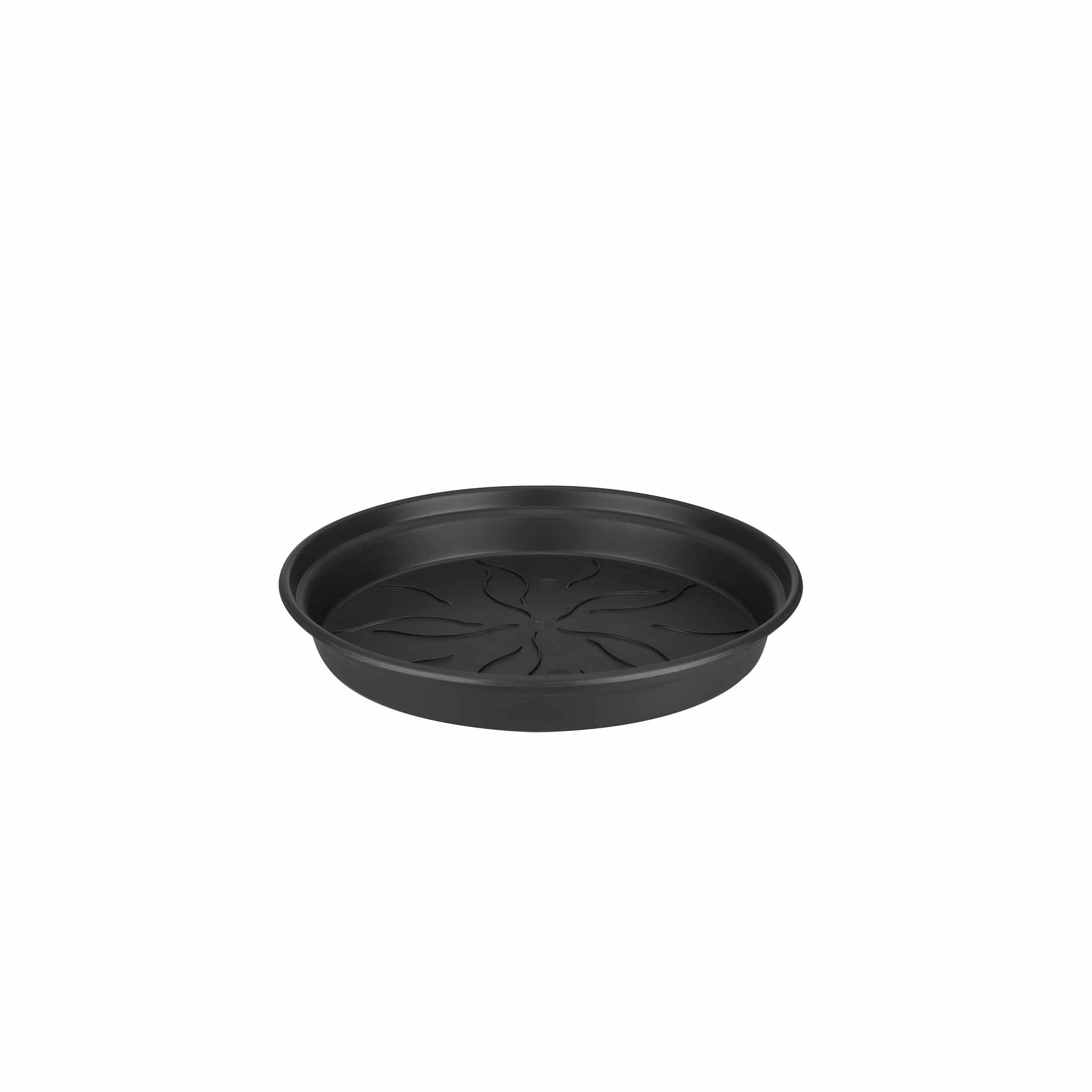 Blumentopf-Untersetzer Green Basics D14cm lebhaft schwarz