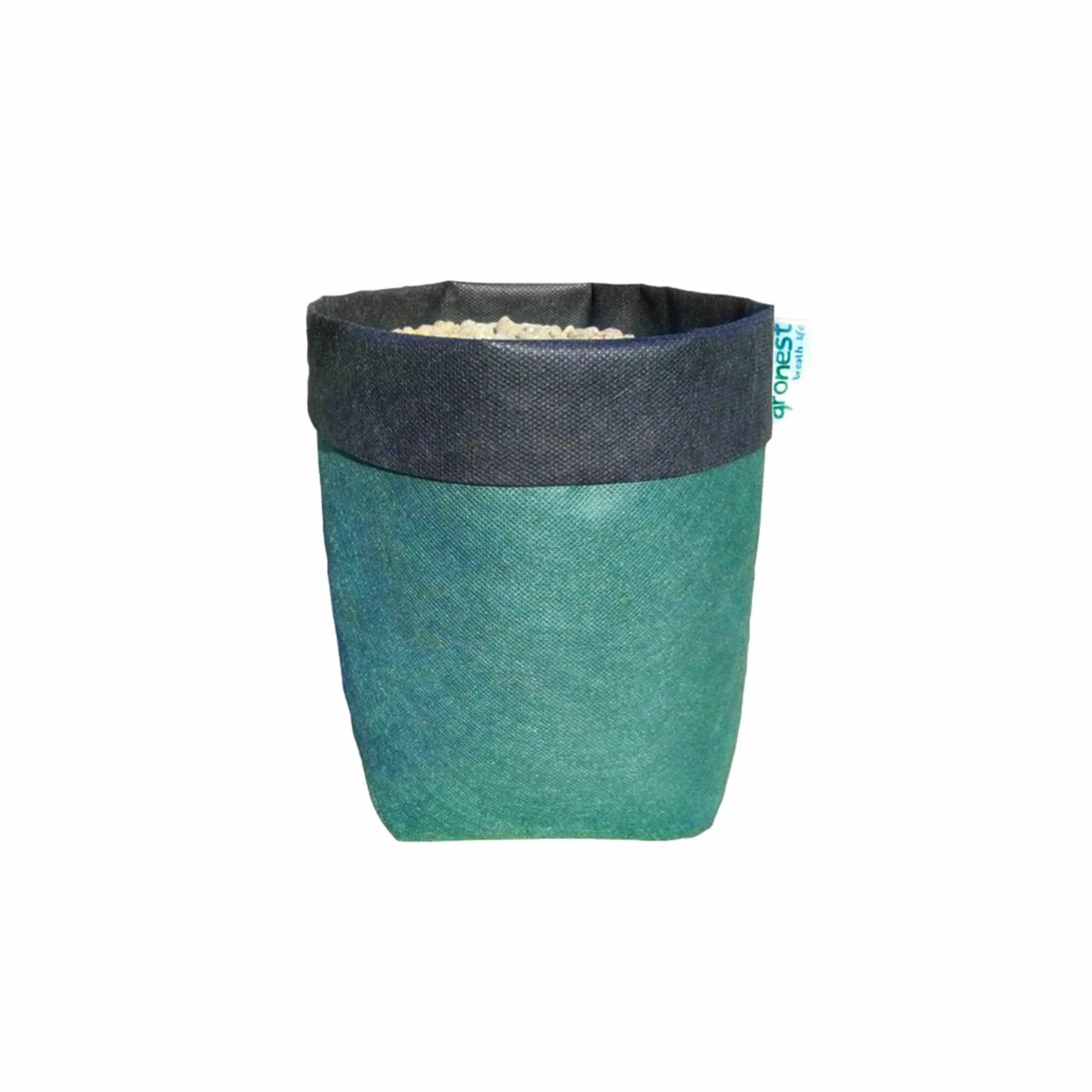 Textil-Blumentopf 5 Liter  grün