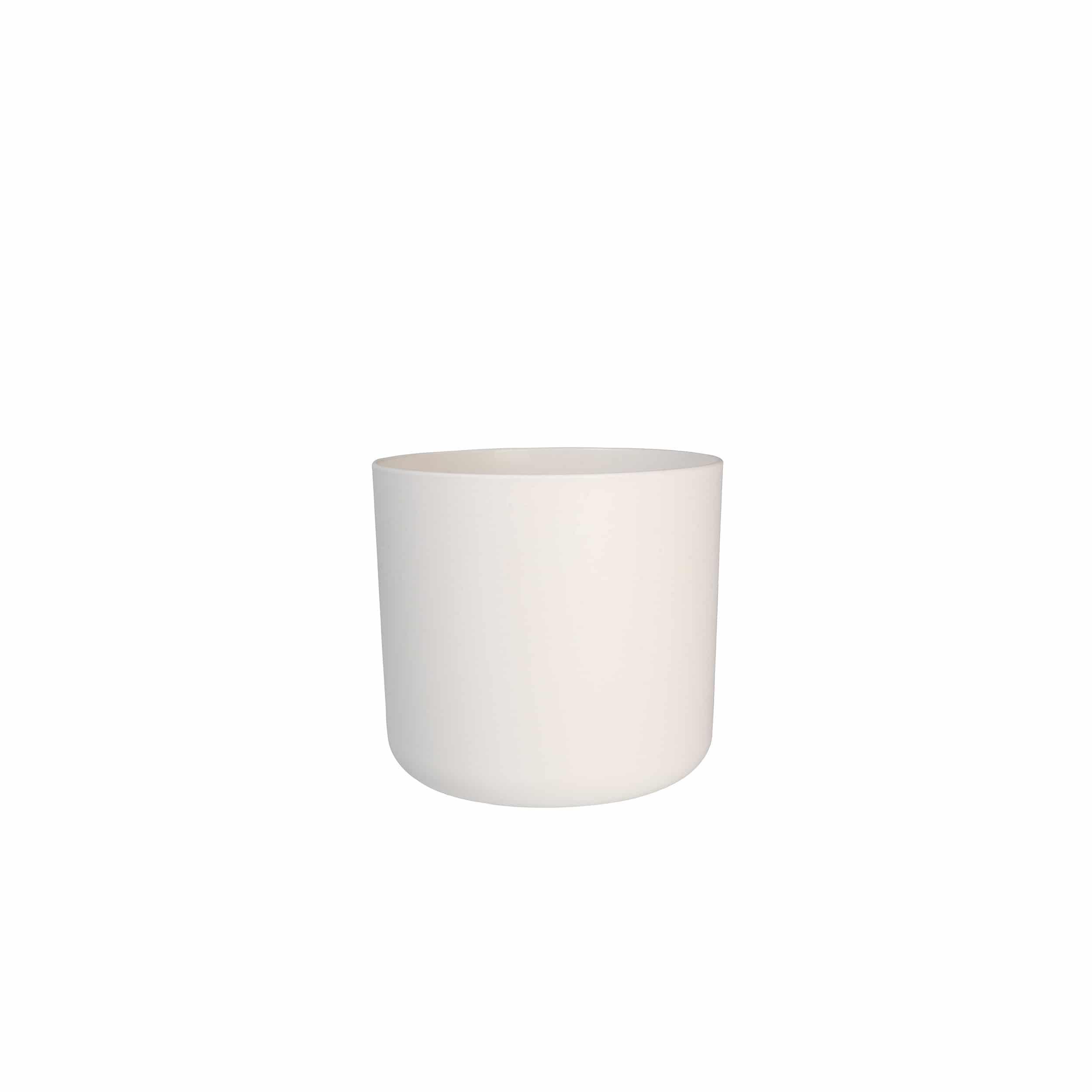 Blumentopf B.for soft rund D14cm weiß