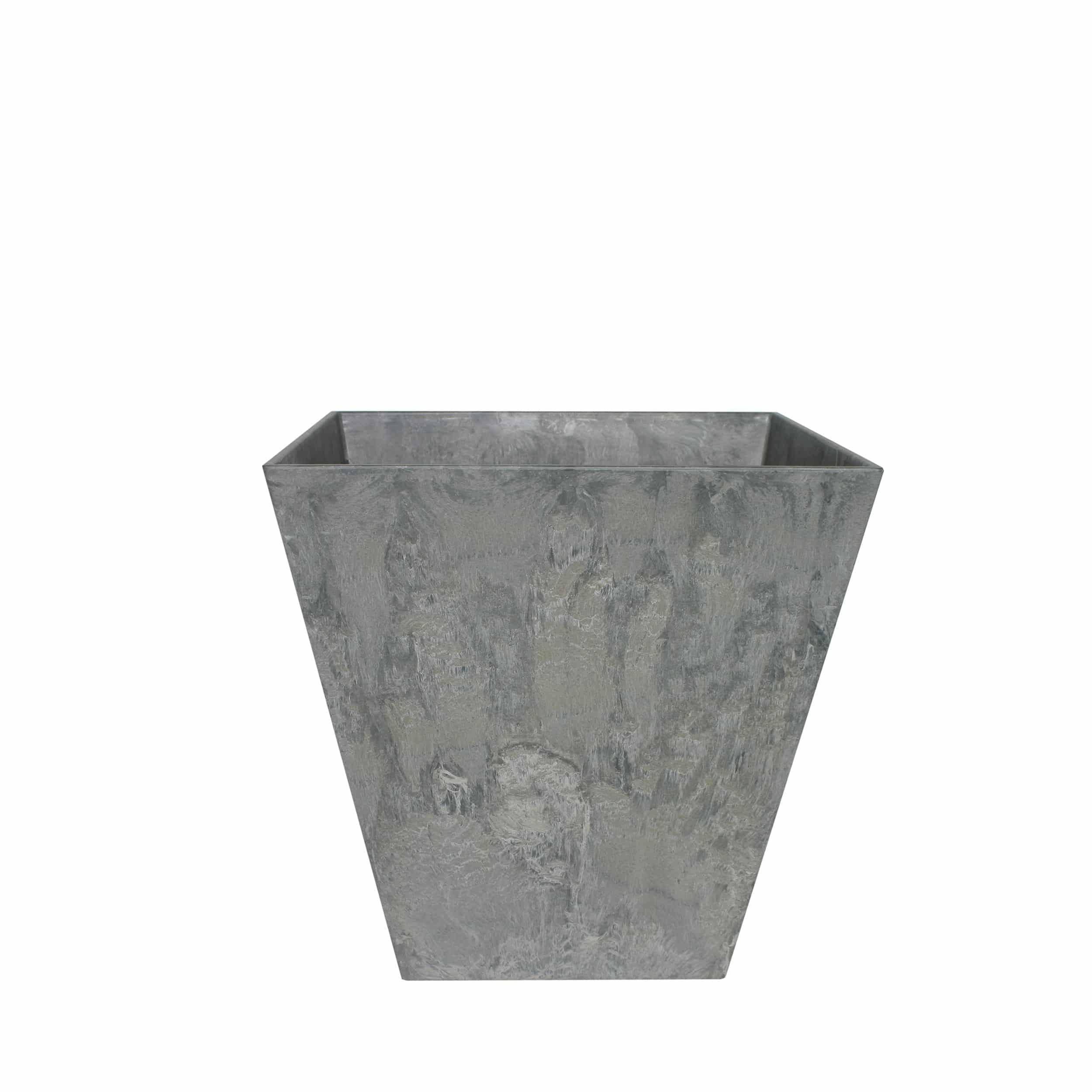 Blumentopf Ella L25cm grau