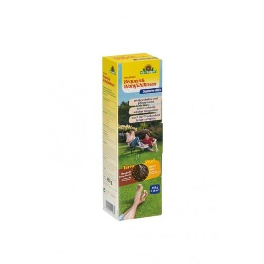 TerraVital Bequem&WohlfühlRasen Samen-Mix 450 g