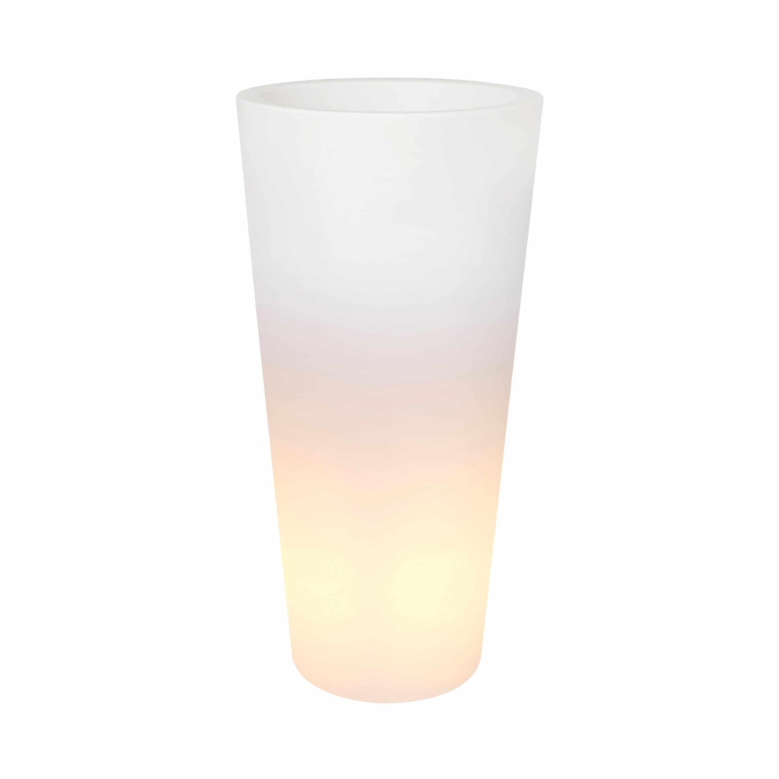 Pflanzsäule beleuchtet Pure Straight High LED Light D50cm