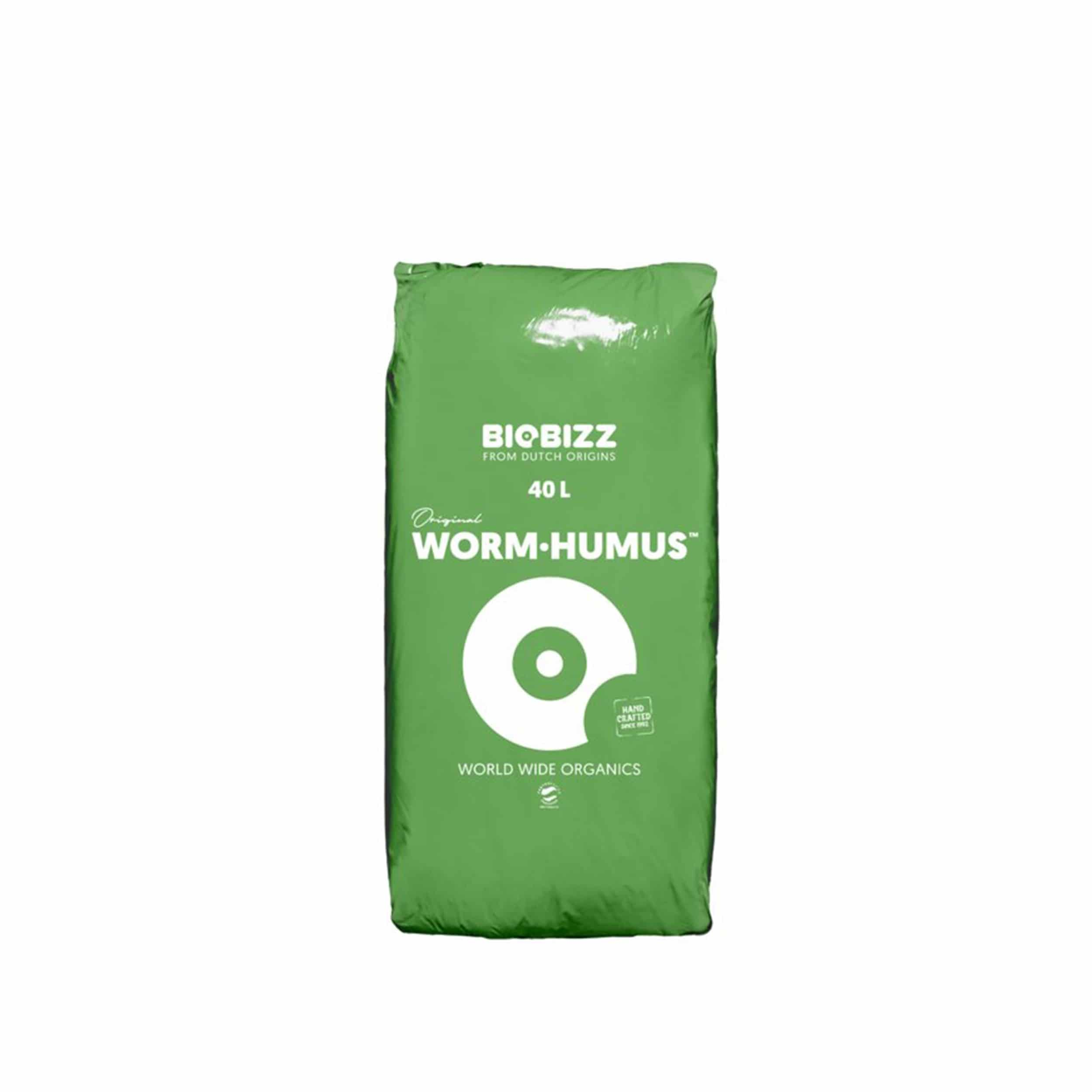 Kompost-Erde Wurm-Humus 40 Liter
