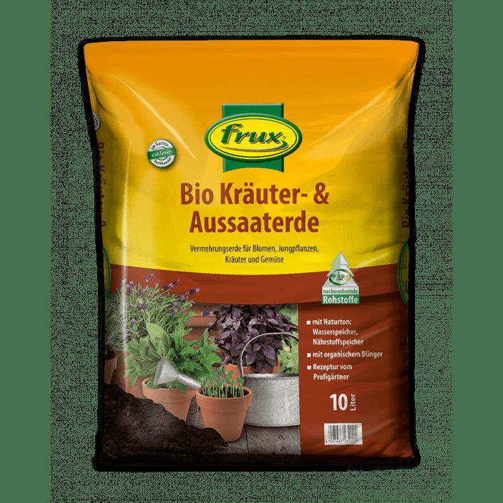 Bio Kräuter- & Aussaaterde 10 Liter