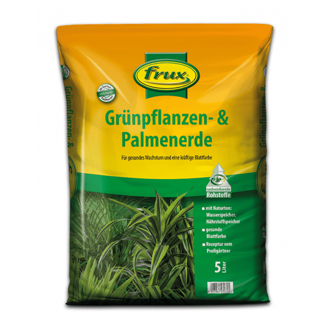 Grünpflanzen- & Palmenerde 5 Liter