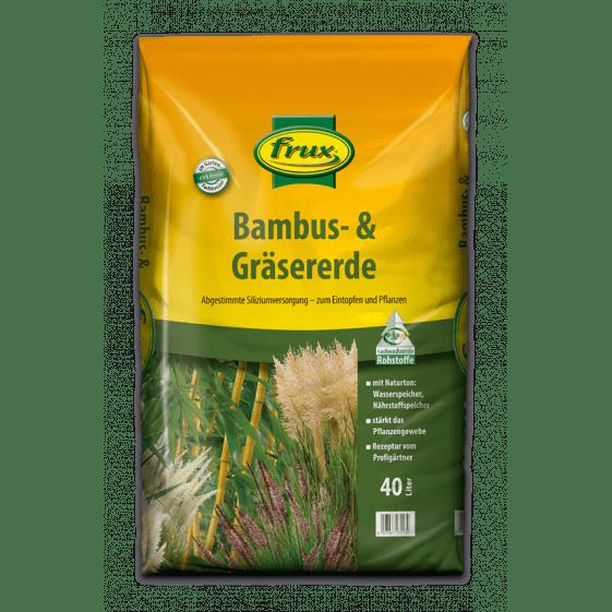 Bambus- & Gräsererde 40 Liter