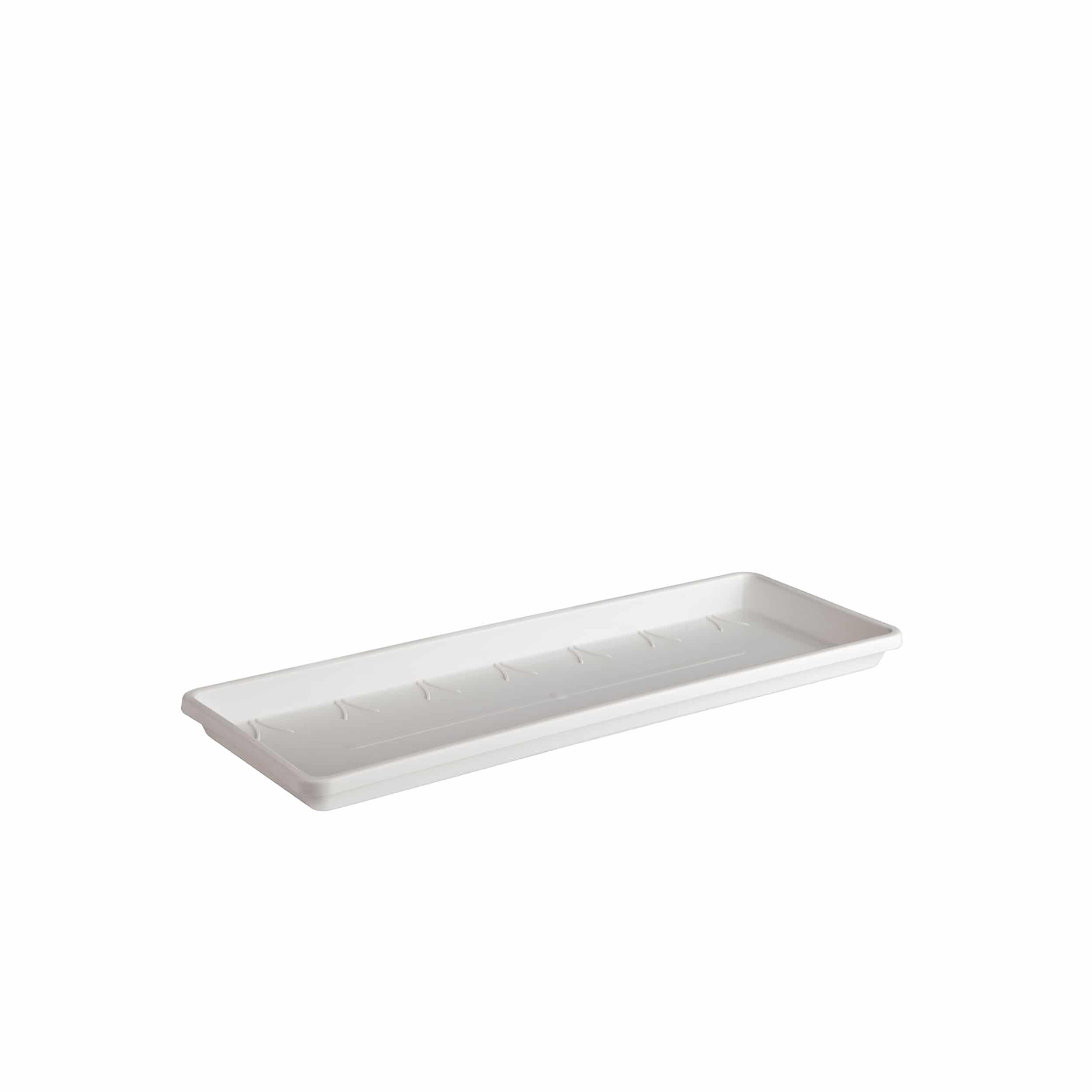 Balkonkastenuntersetzer Barcelona L40 cm weiß