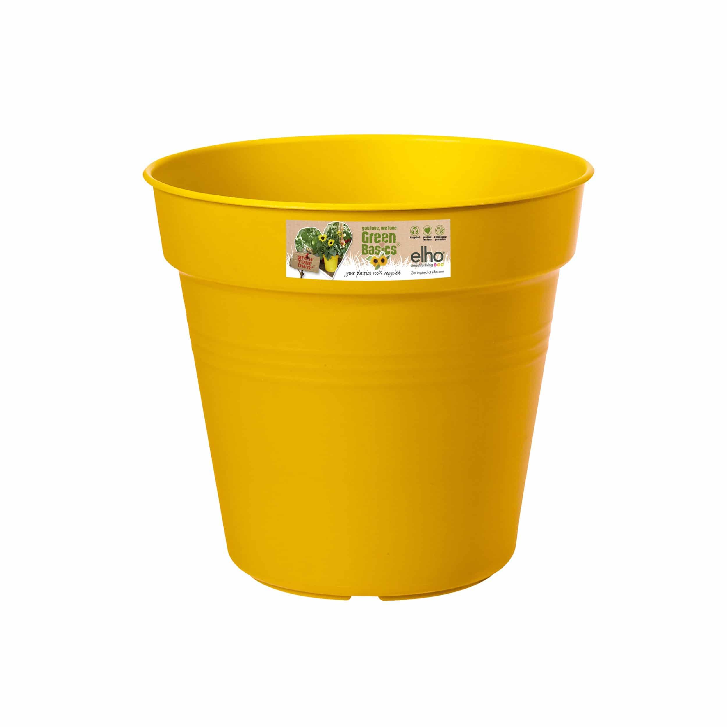 Pflanztopf Green Basics D30cm gelb