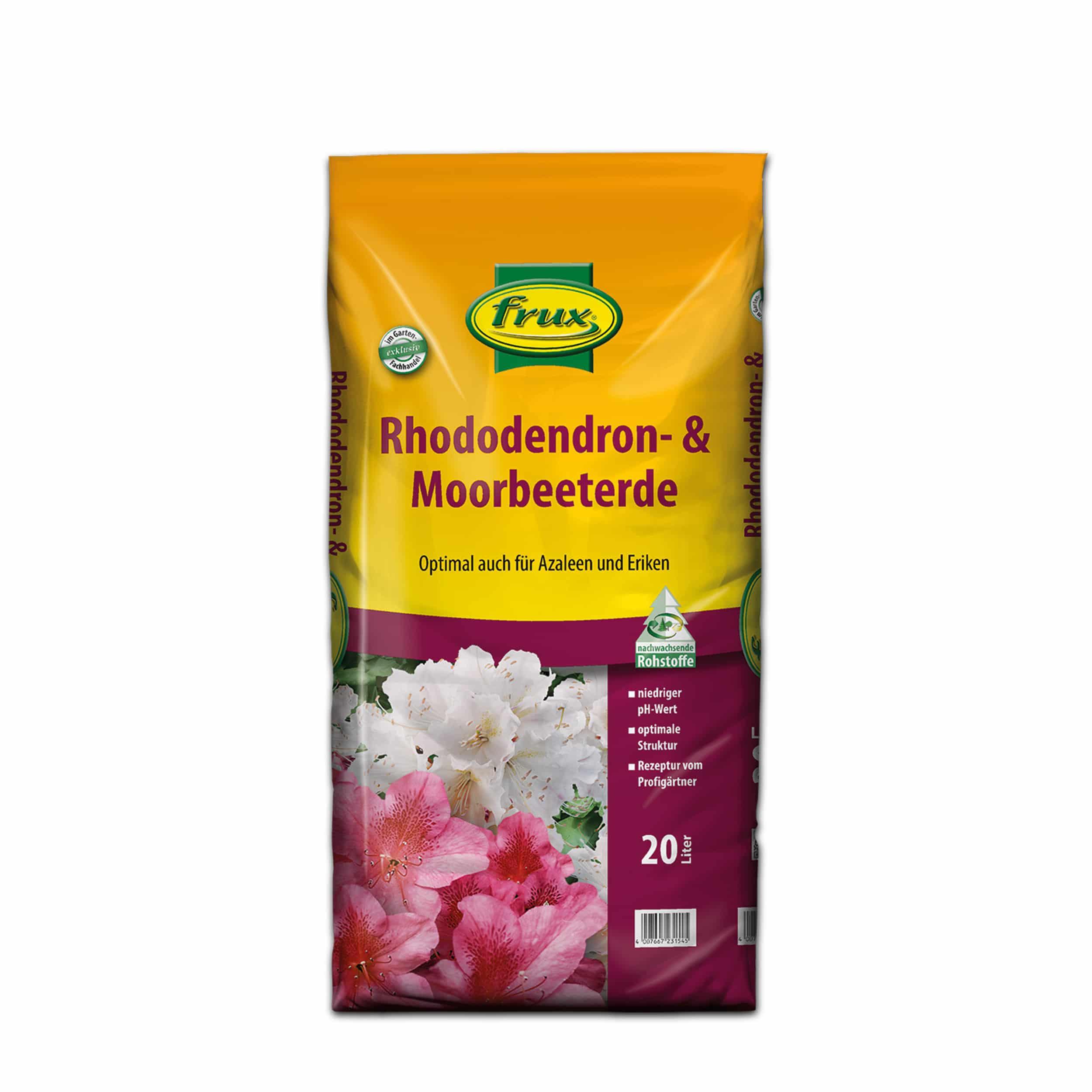 Rhododendron- & Moorbeeterde 20 Liter