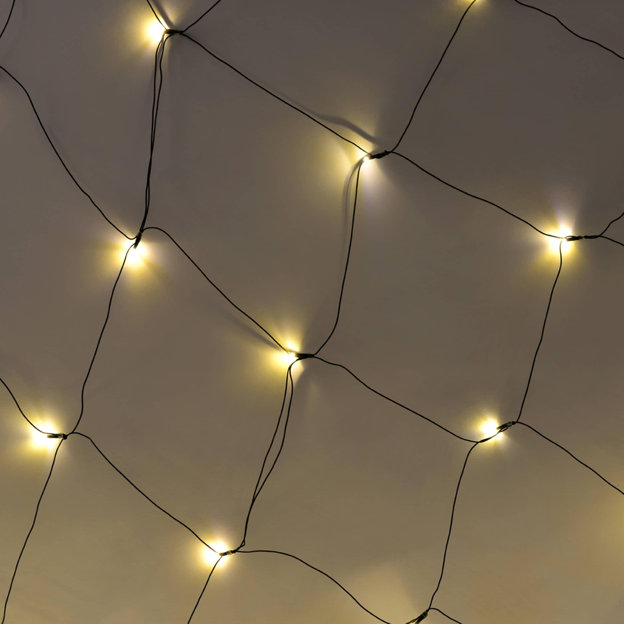 Lichternetz 160 LED L200cm warmweiß