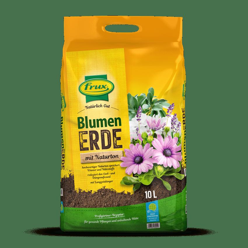 Blumenerde mit Naturton 10 Liter