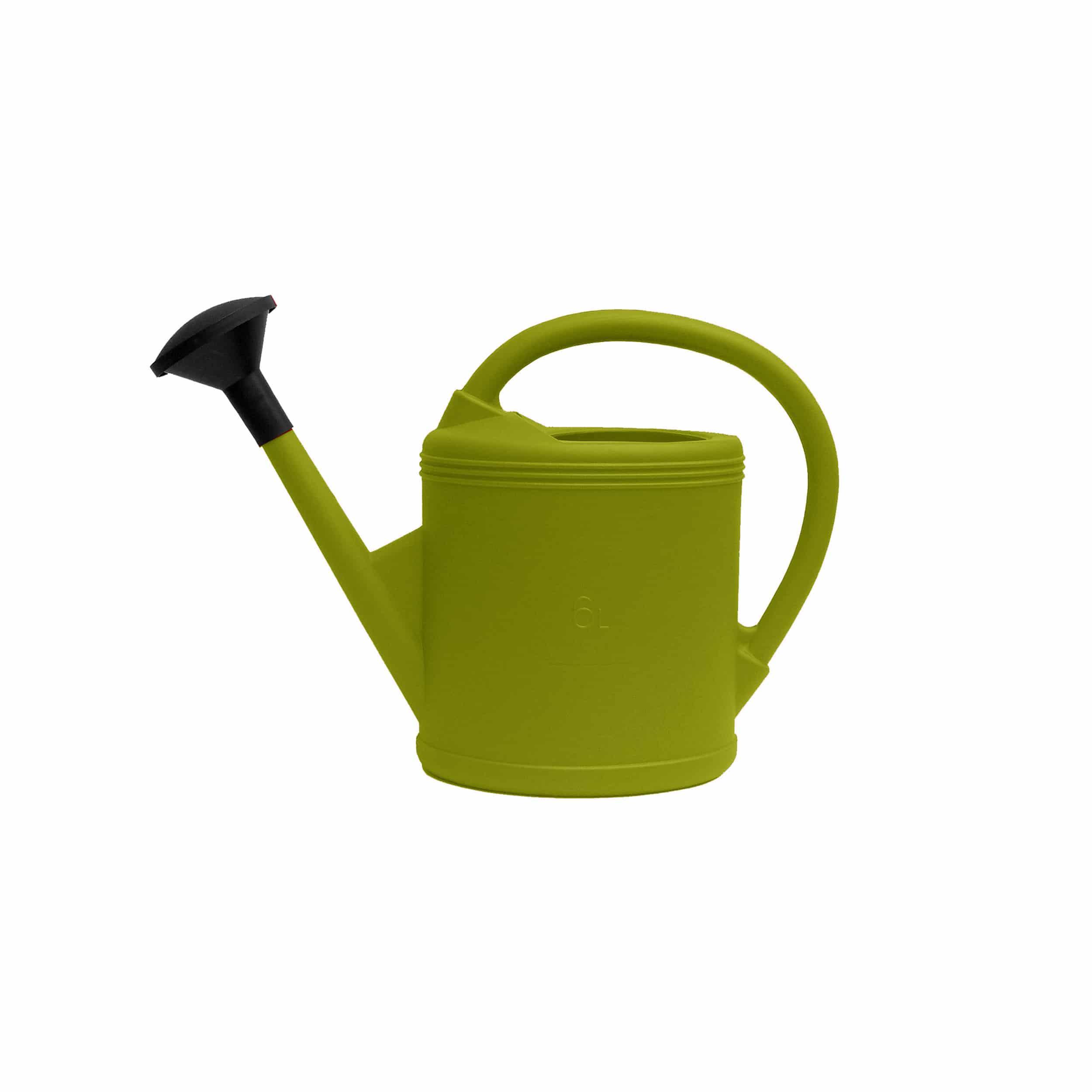 Gießkanne 6 Liter limegrün