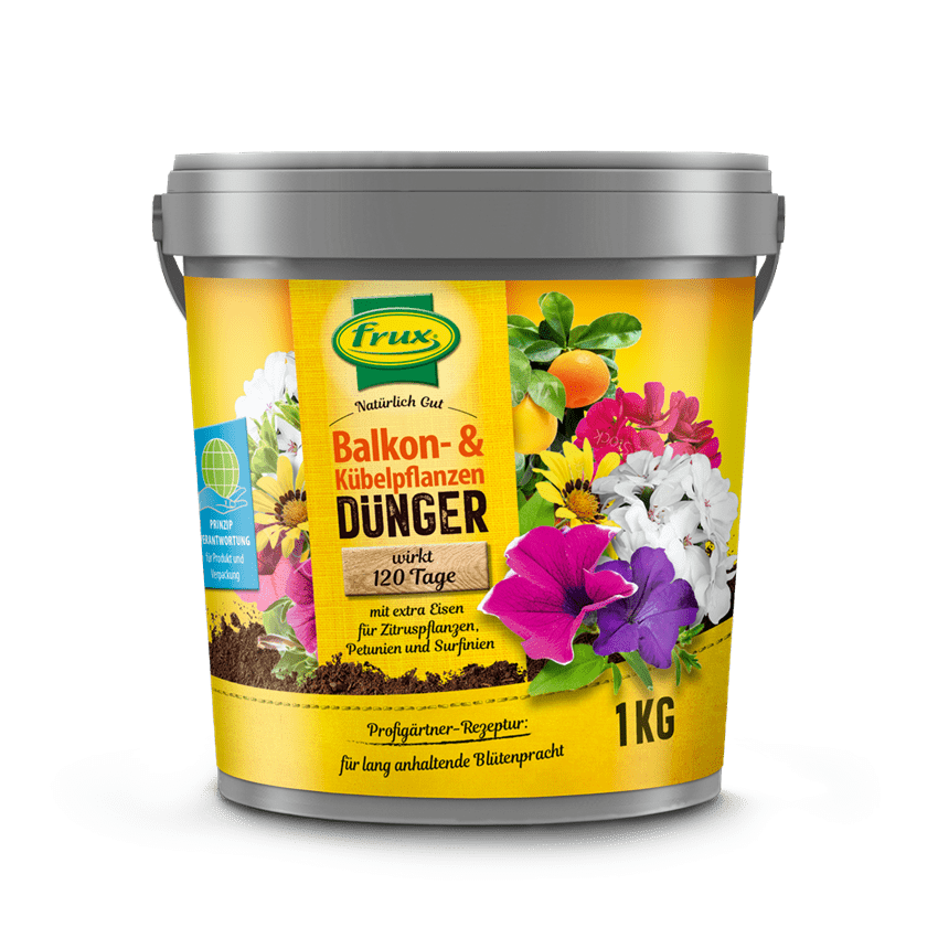 Balkon- & Kübelpflanzendünger 1 kg