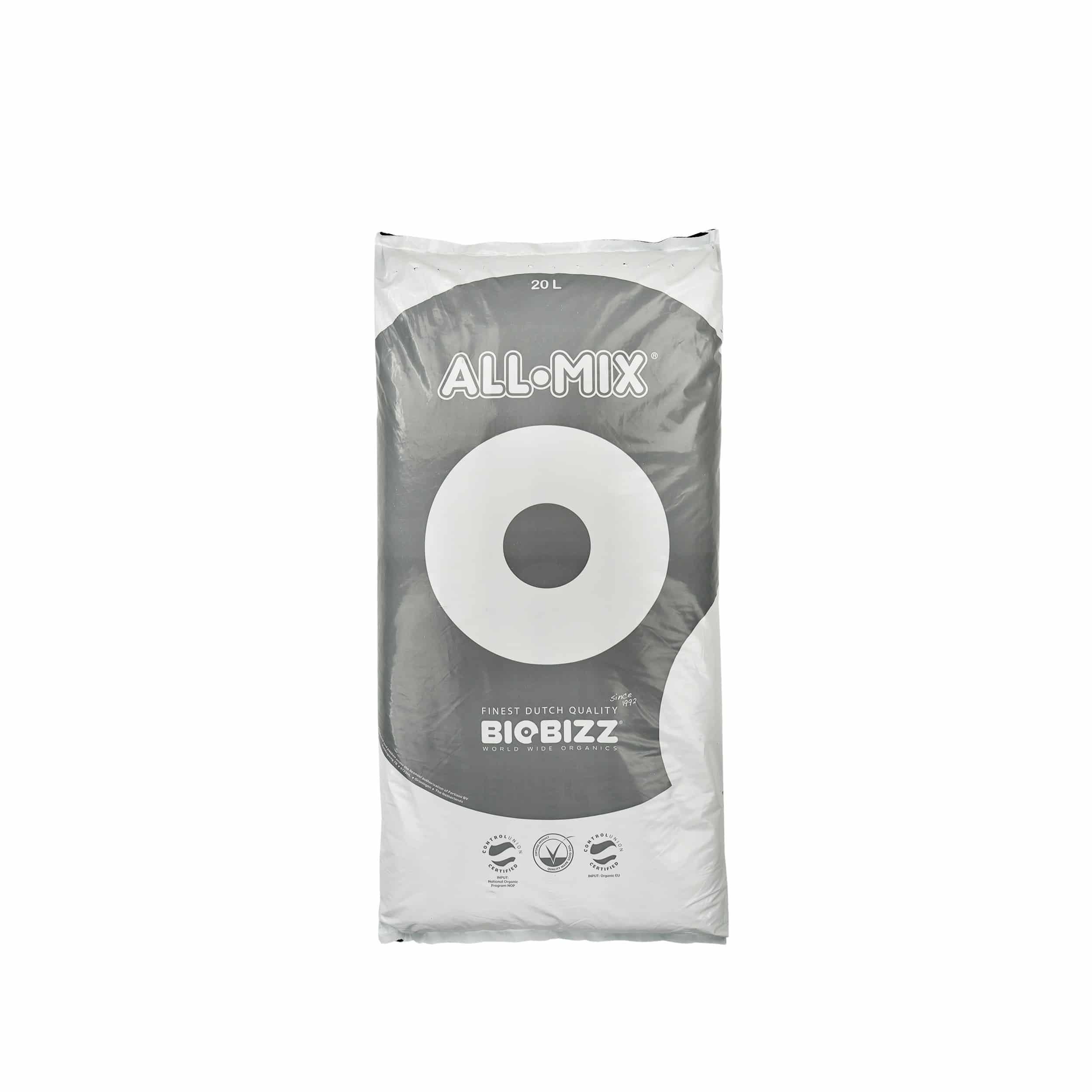 Qualitätserde All-Mix vorgedüngt 20 Liter