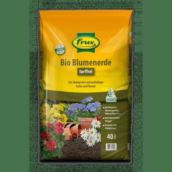 Bio Blumenerde -torffrei- 40 Liter
