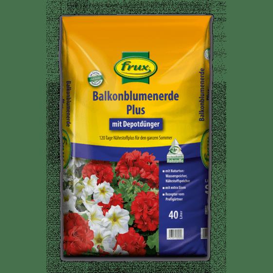 Balkonblumenerde Plus – mit Depotdünger 40 Liter