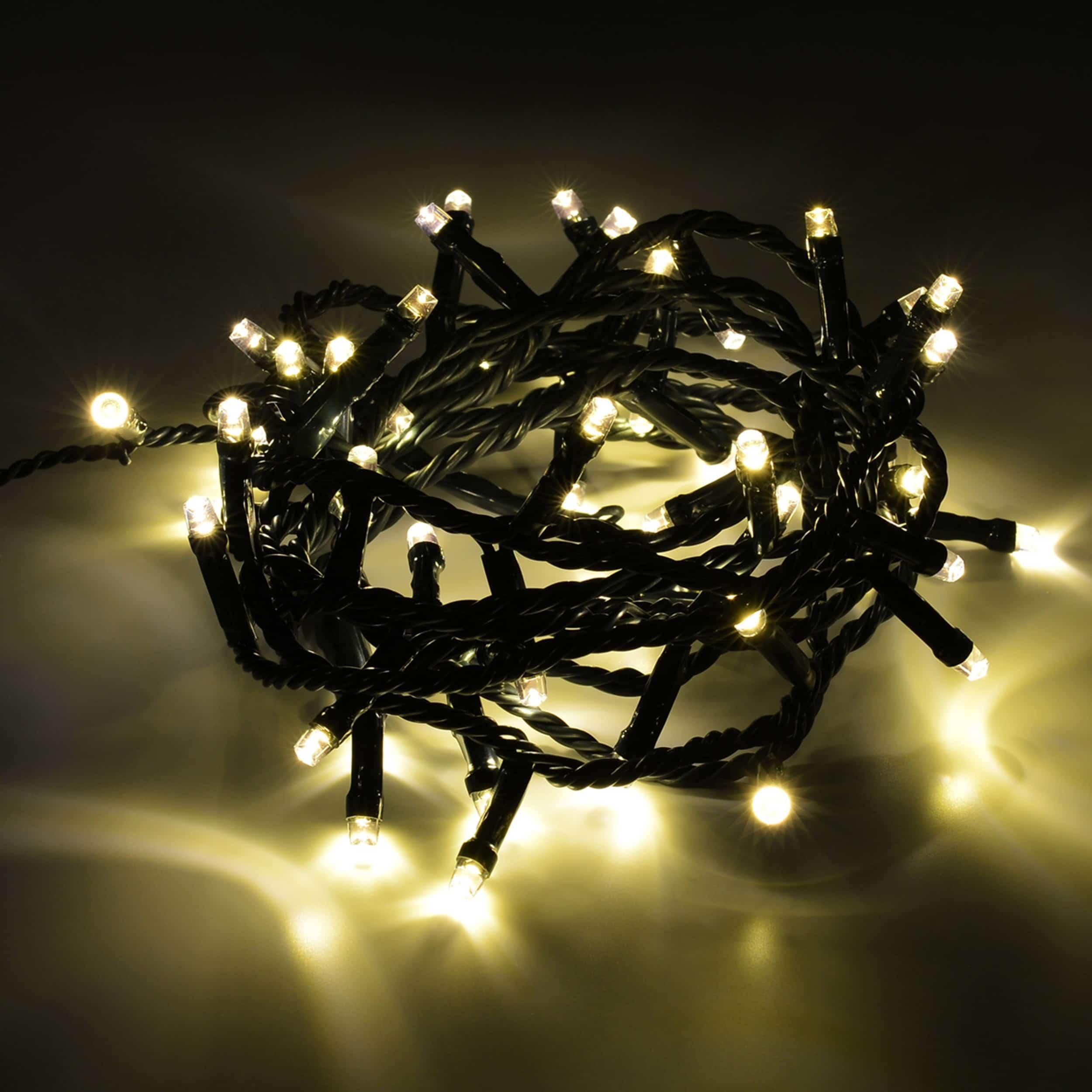 LED Lichterkette 40 LED energiesparend L200cm warmweiß