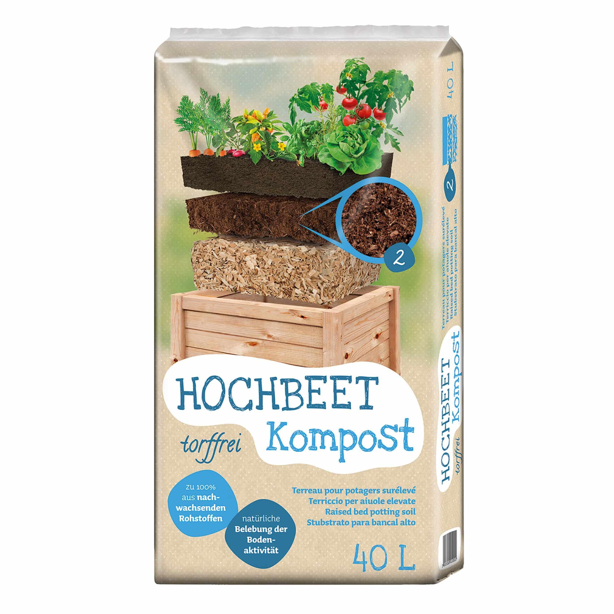Universal Hochbeet Kompost 40 Liter