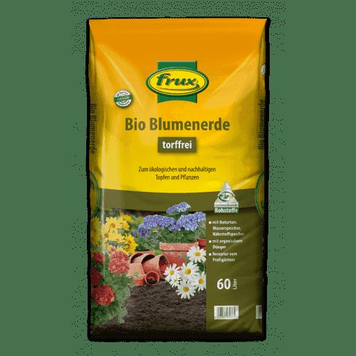 Bio Blumenerde -torffrei- 60 Liter