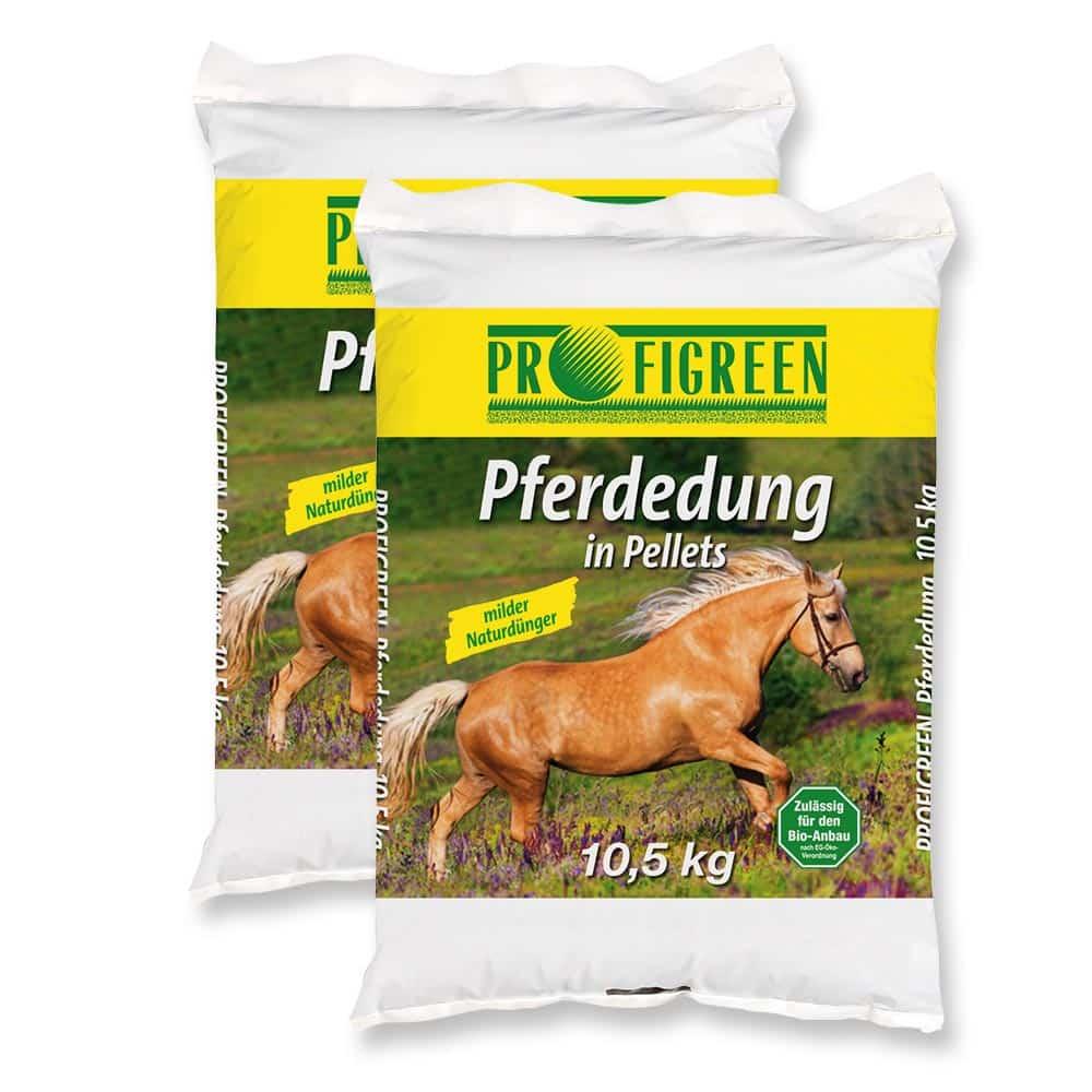 Pferdedung in Pellets 21 kg