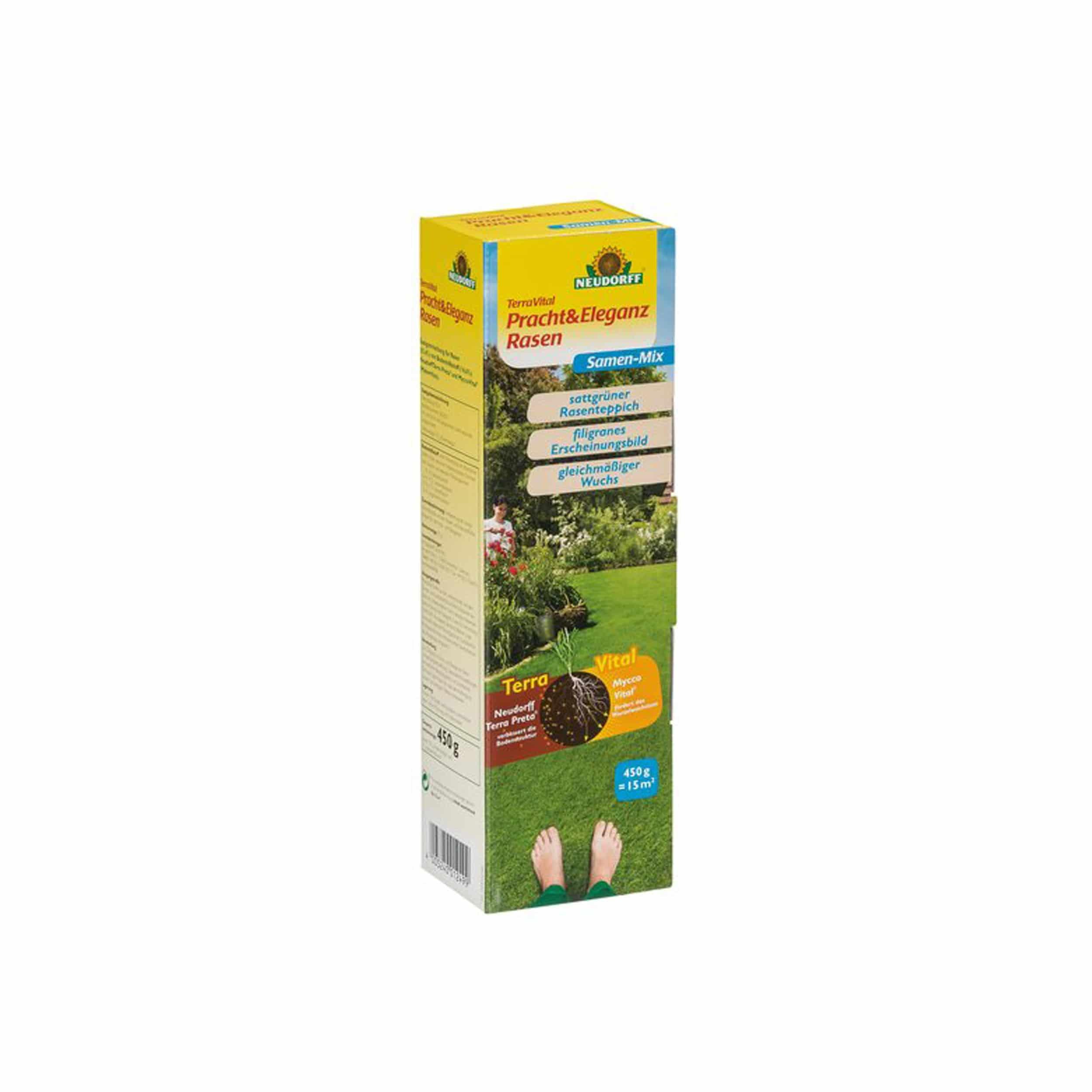 TerraVital Pracht&EleganzRasen Samen-Mix 450 g