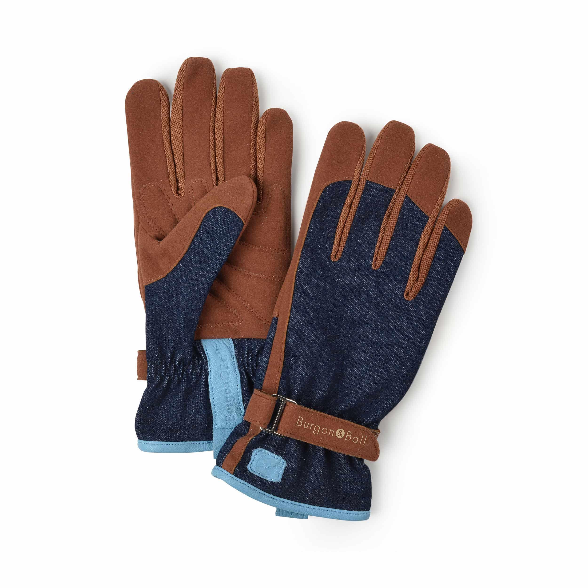 Gartenhandschuhe für Damen blau