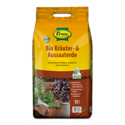 Bio Kräuter- & Aussaaterde 15 Liter