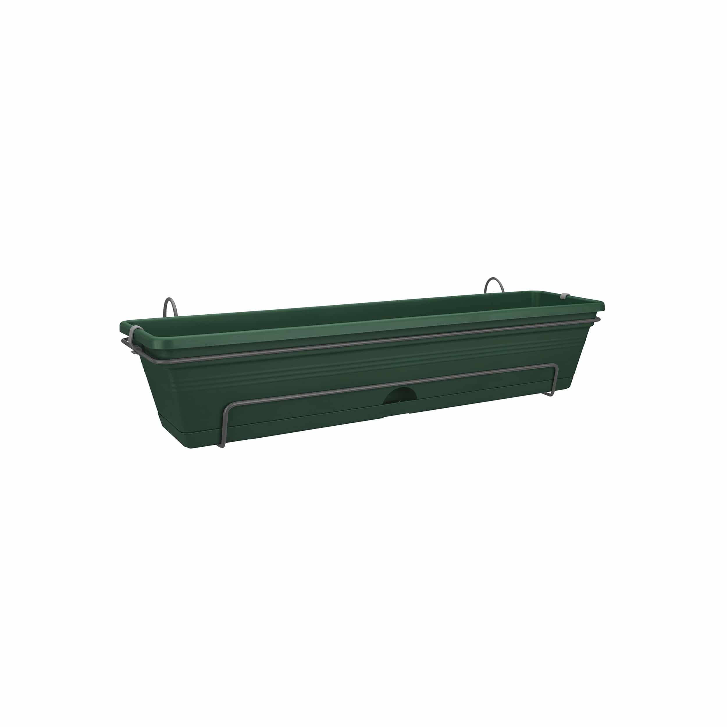 Blumenkasten-Set Green Basics All-in-One L70cm laubgrün