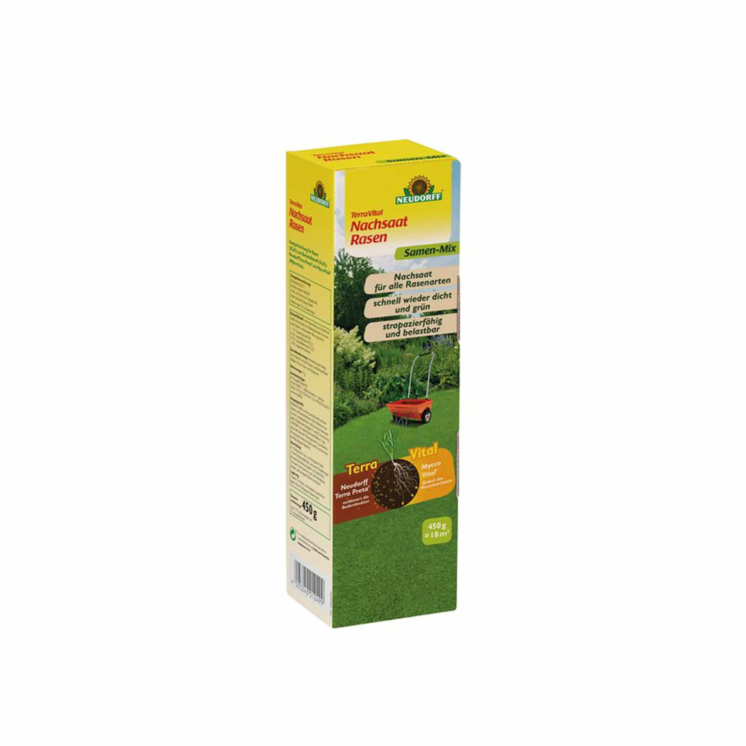 TerraVital NachsaatRasen Samen-Mix 450 g