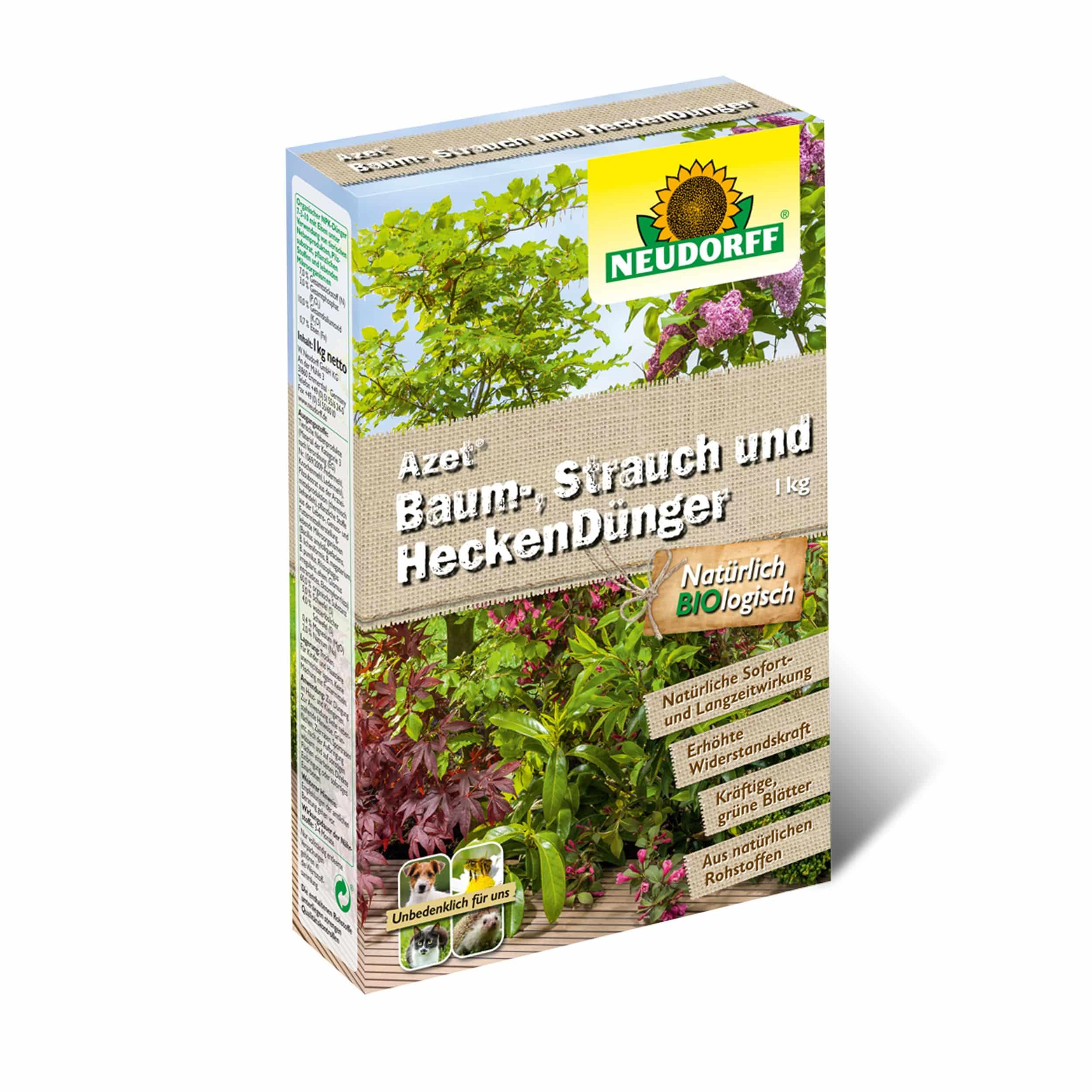 Azet Baum-, Strauch- und HeckenDünger 1 kg