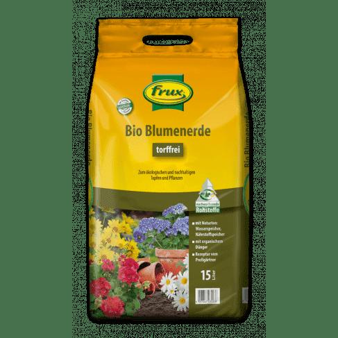 Bio Blumenerde -torffrei- 15 Liter