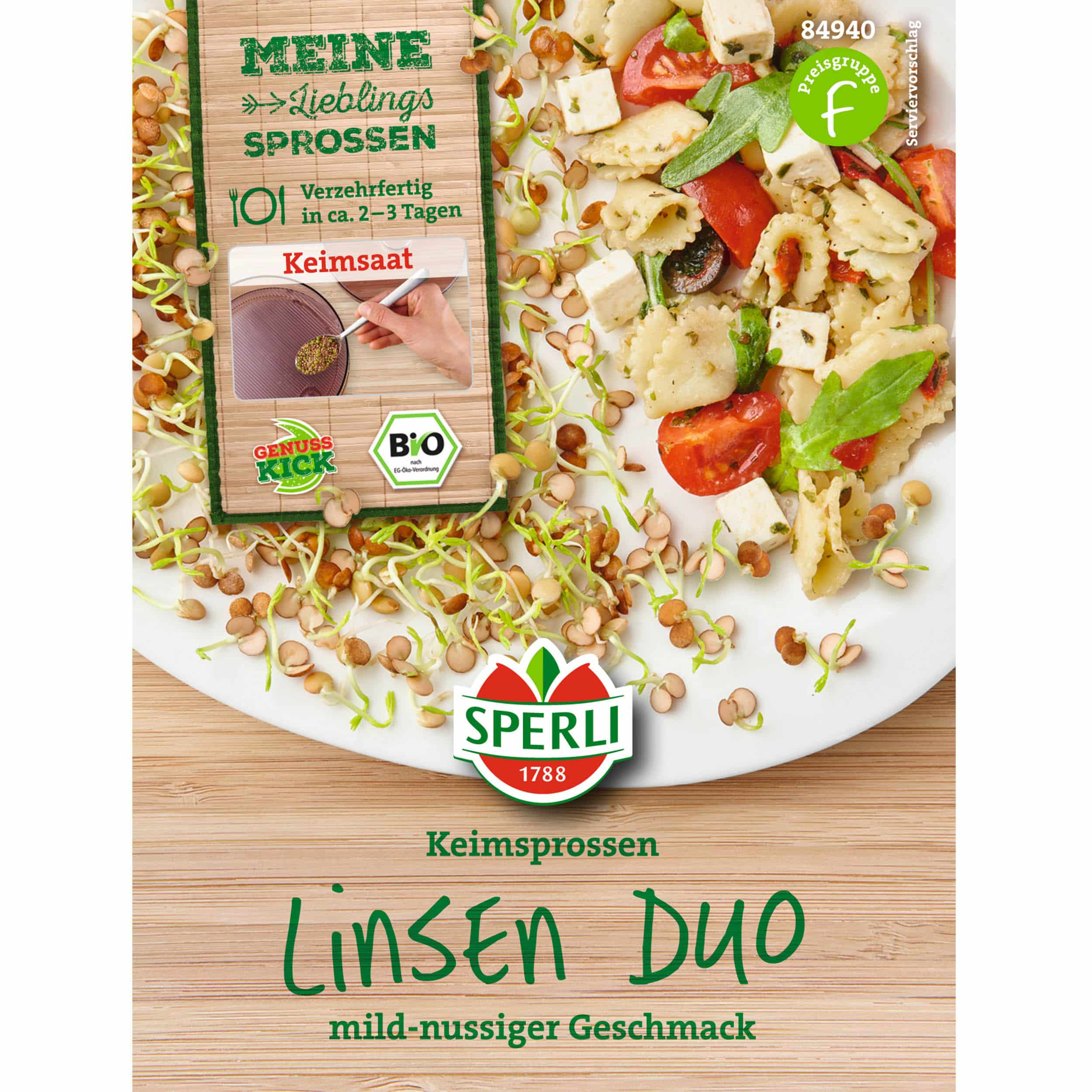 Bio Keimsprossen Linsen Duo