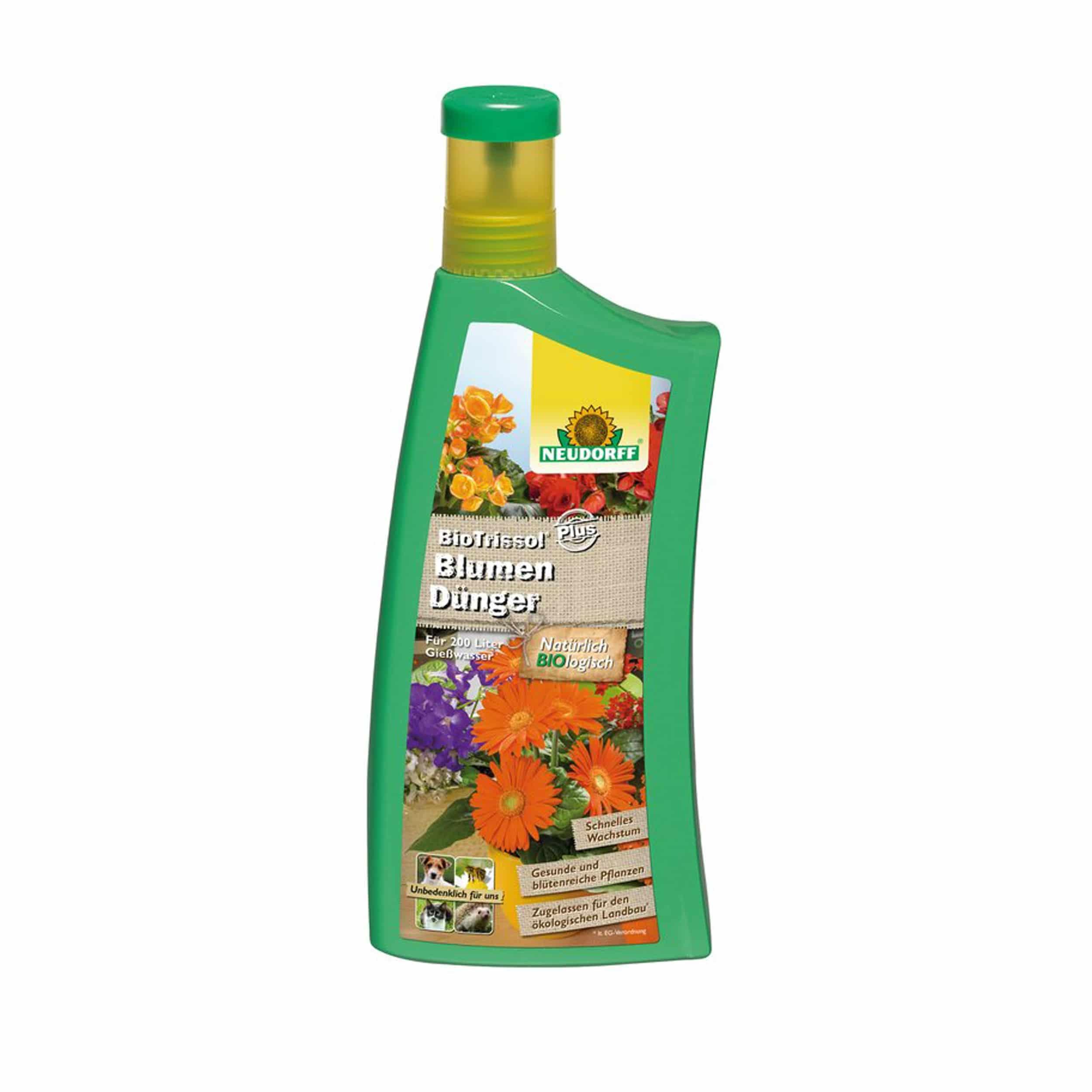 BioTrissol Plus BlumenDünger 1 Liter