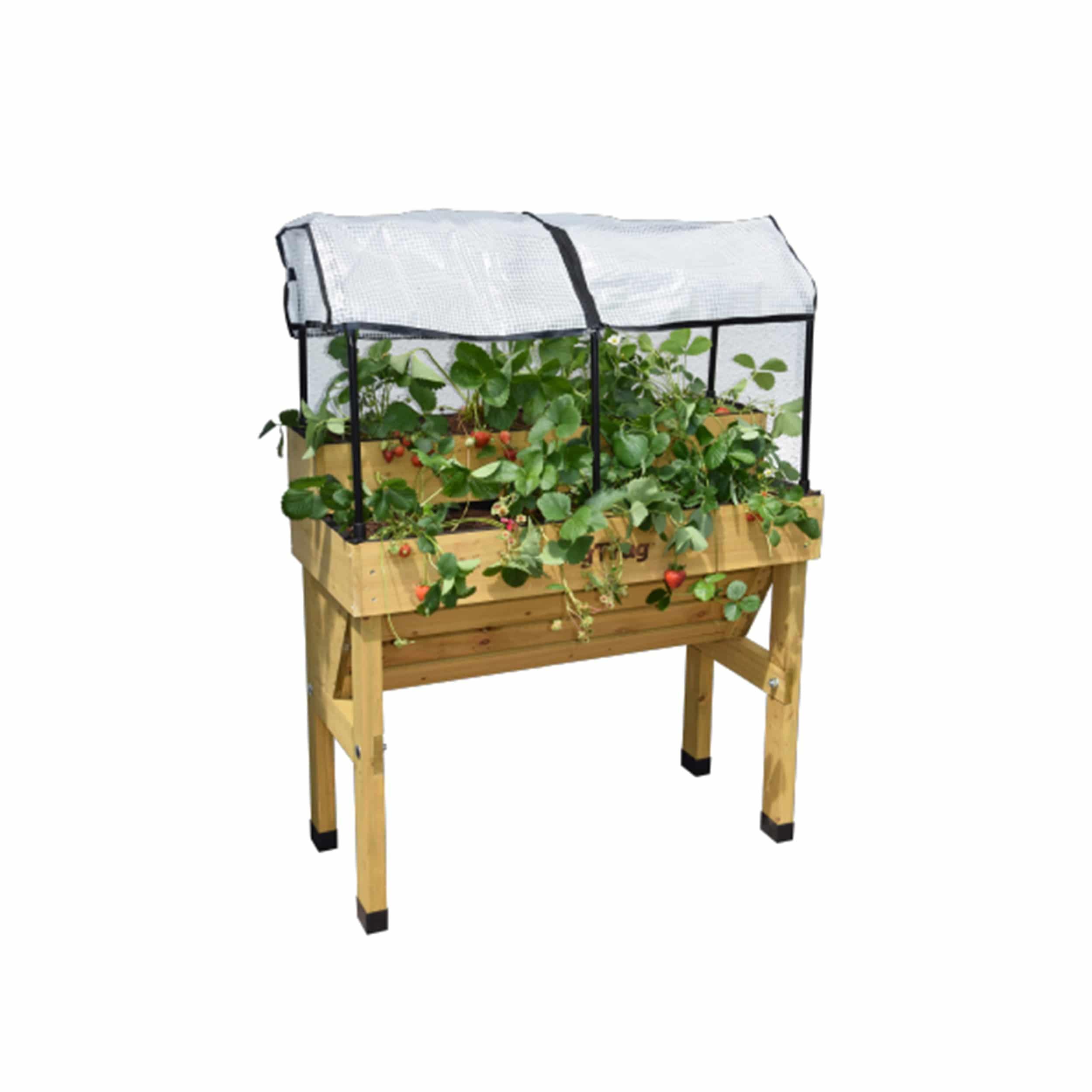 Hochbeet Erweiterungsset für Erdbeer-Anbau