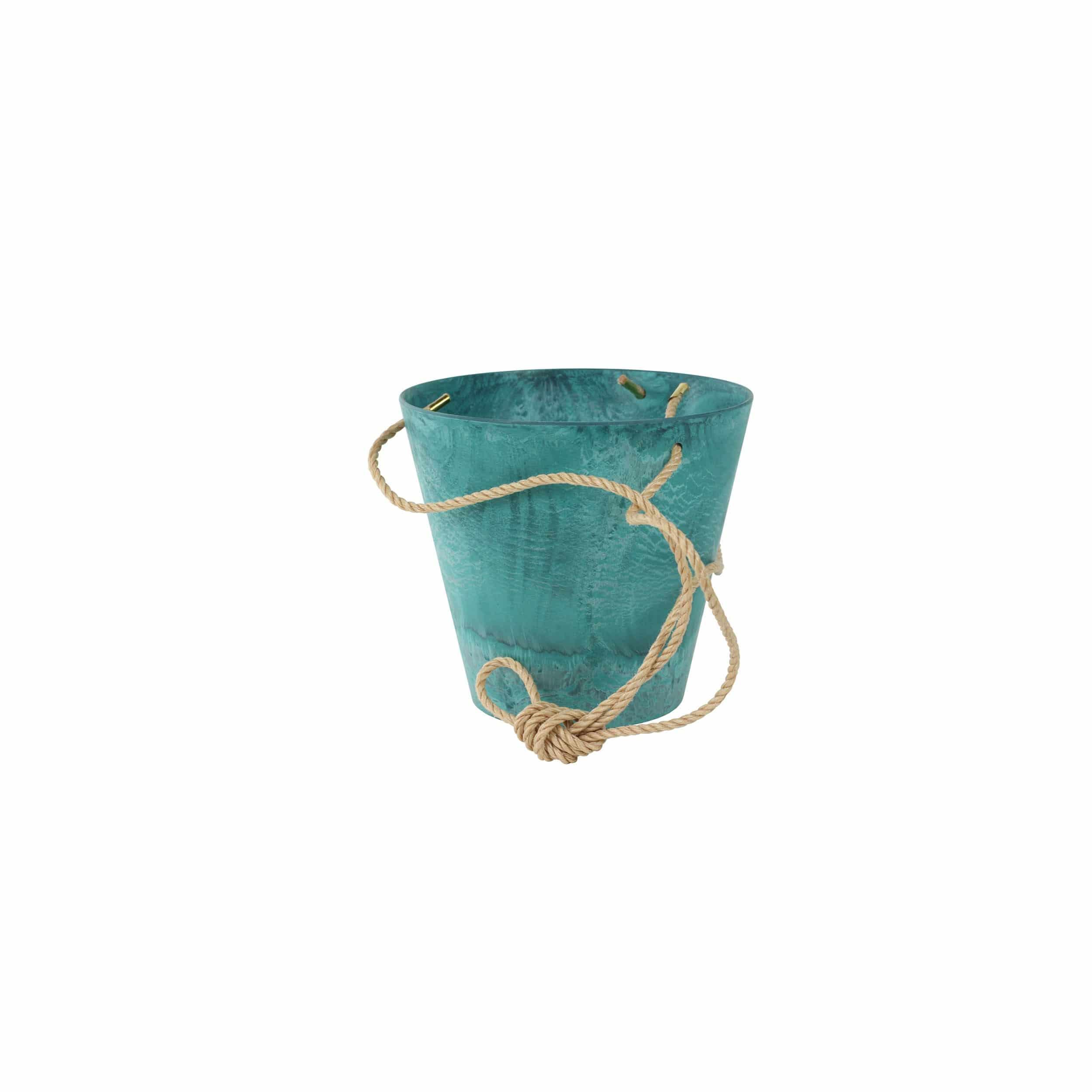 Hänge-Blumentopf Claire D17cm azurblau