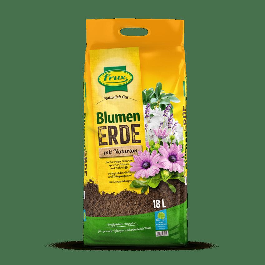 Blumenerde mit Naturton 18 Liter