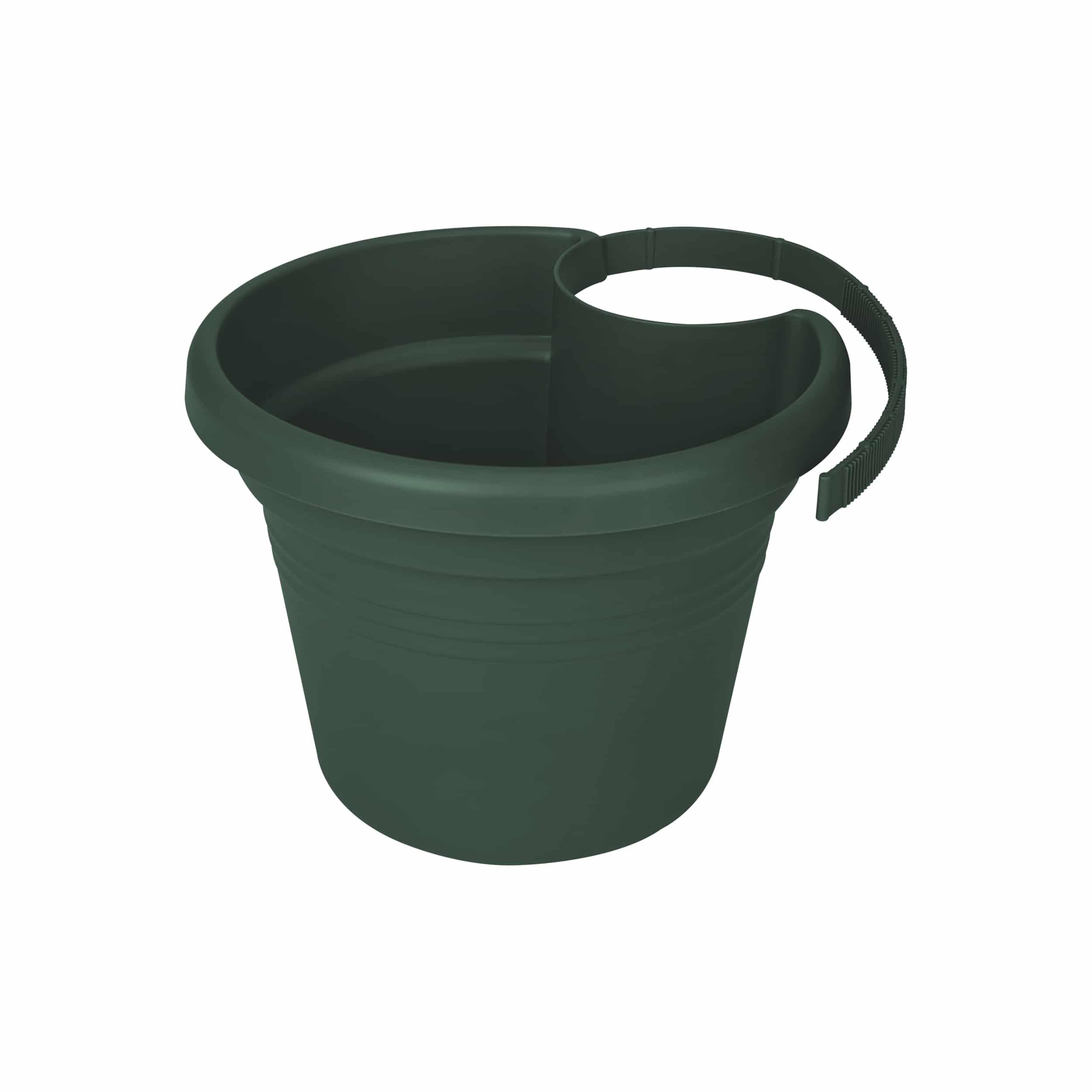 Regenrohrpflanzgefäß Green Basics D23cm laubgrün