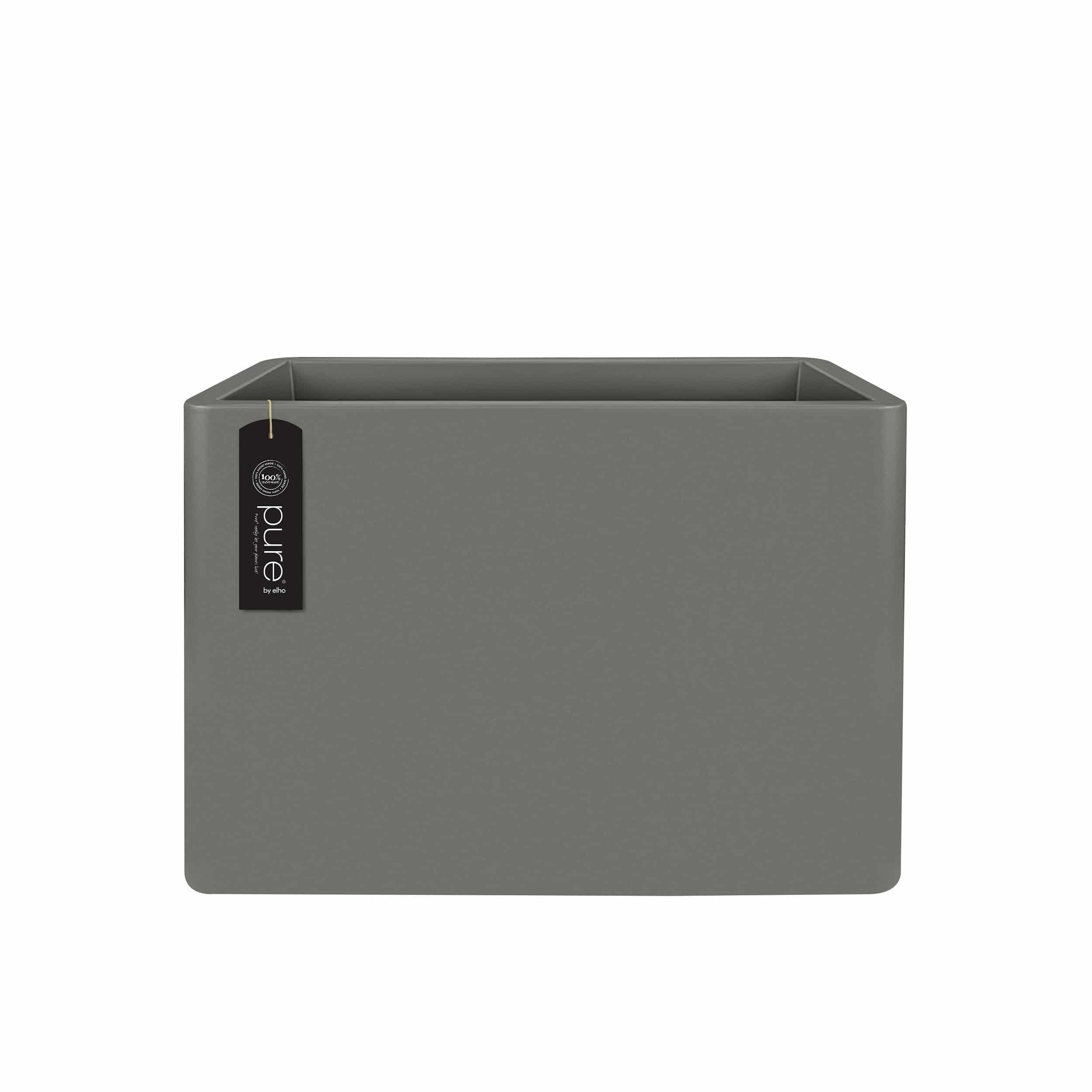 Pflanzkasten Pure Soft Brick Divider mit Rollen L80cm steingrau