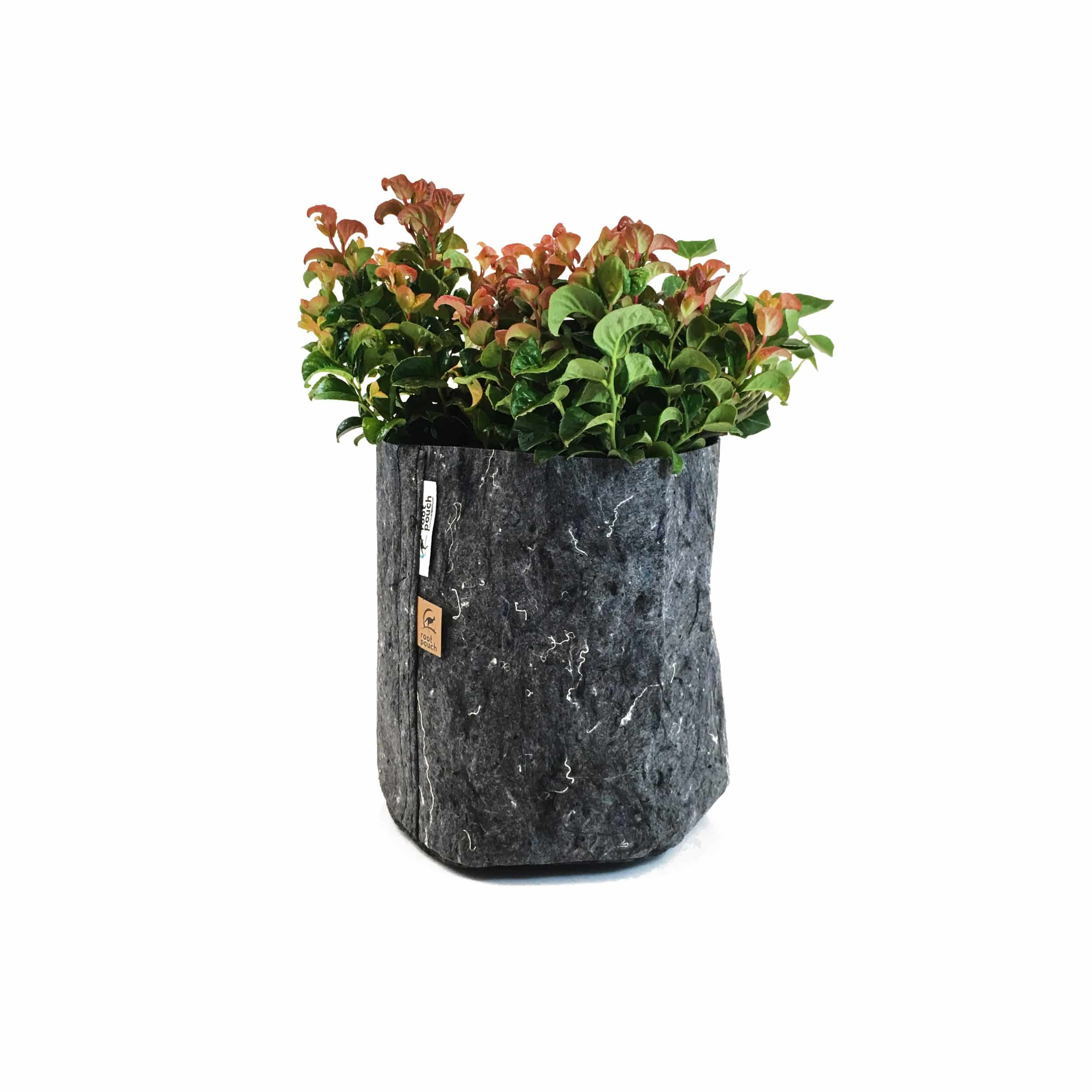 Pflanztasche ohne Griffe 8l grau