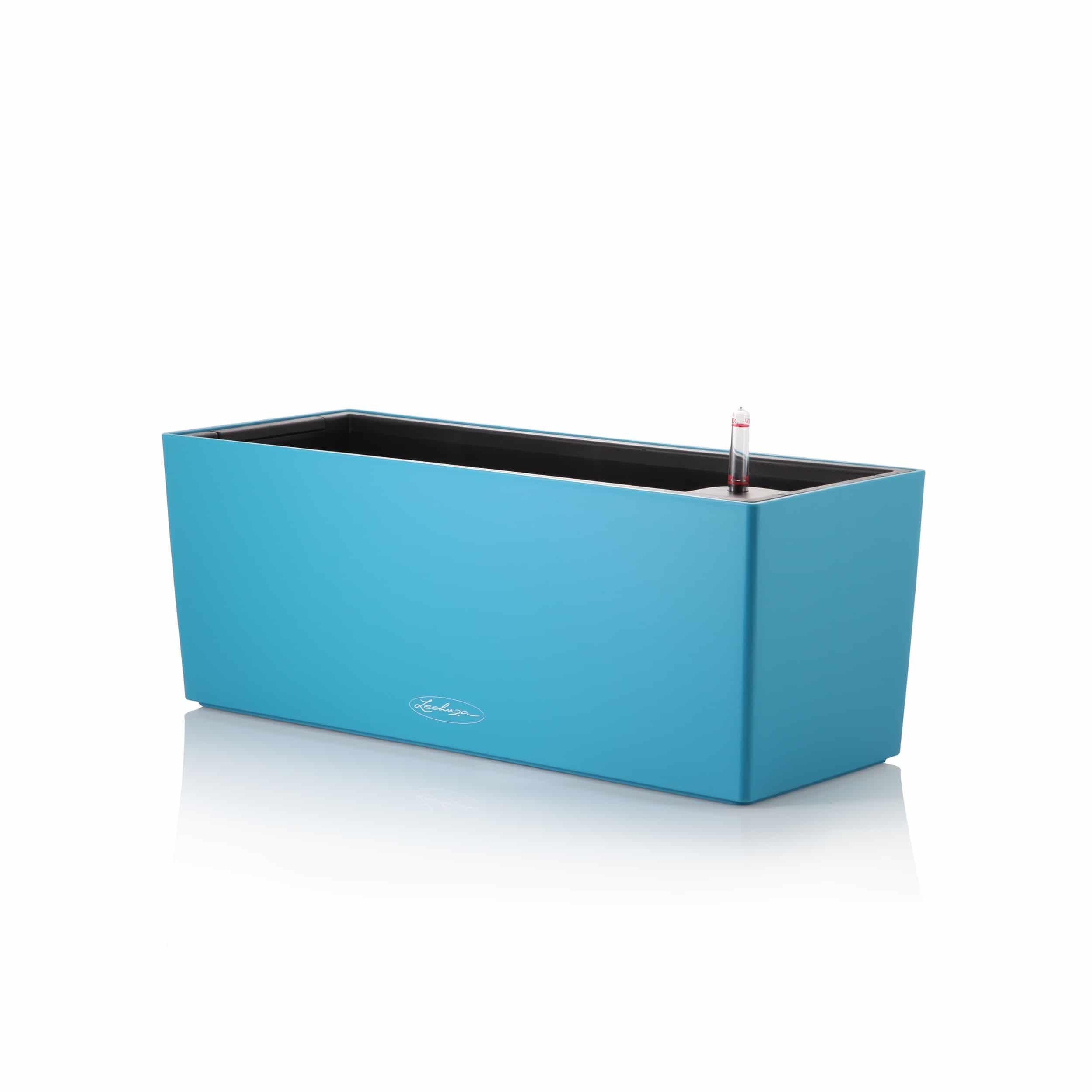 Blumenkasten Balconera Color All-in-One Set L50cm karibikblau